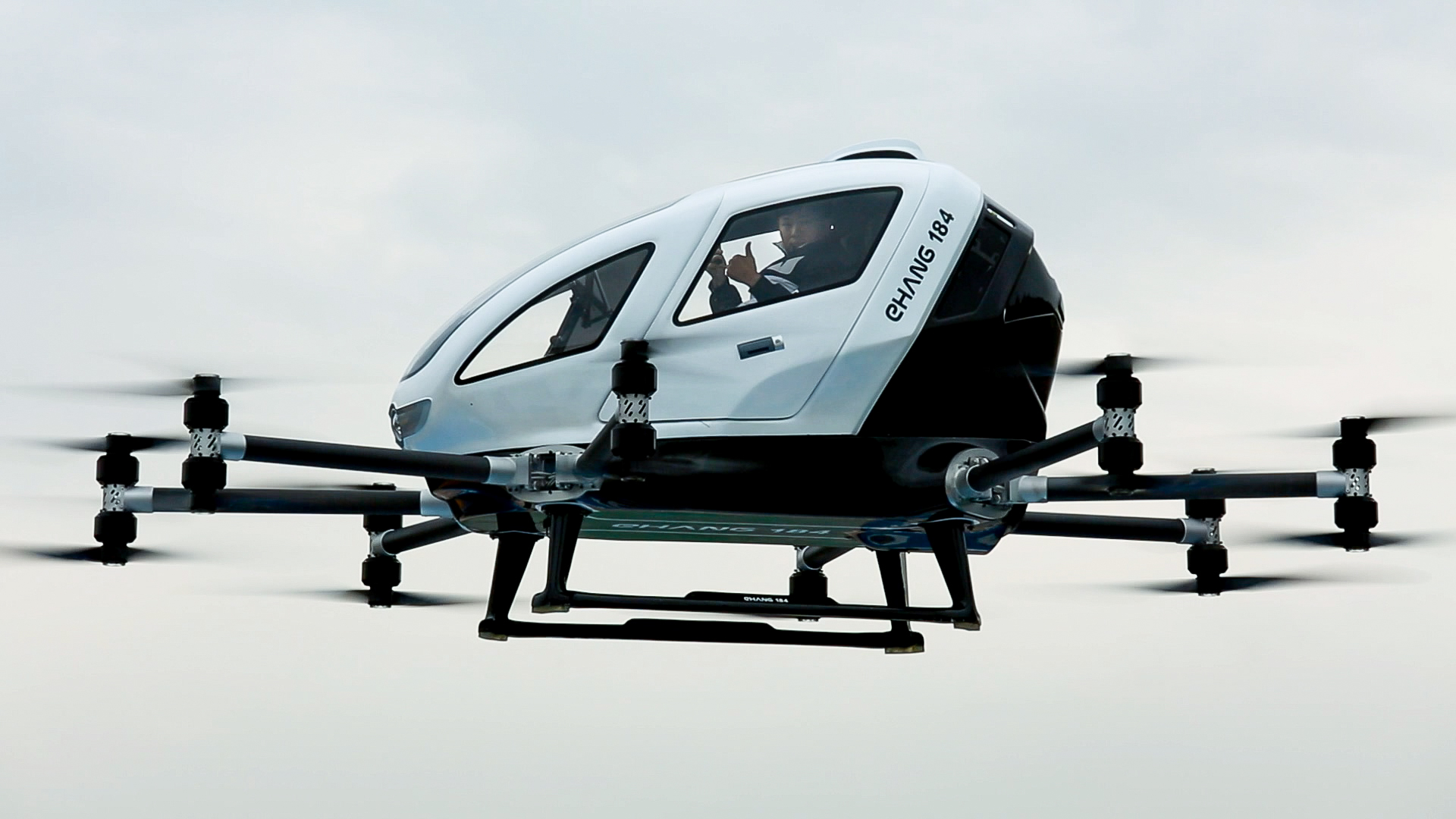 Ehang S Passenger Carrying Drones Look Insanely Impressive