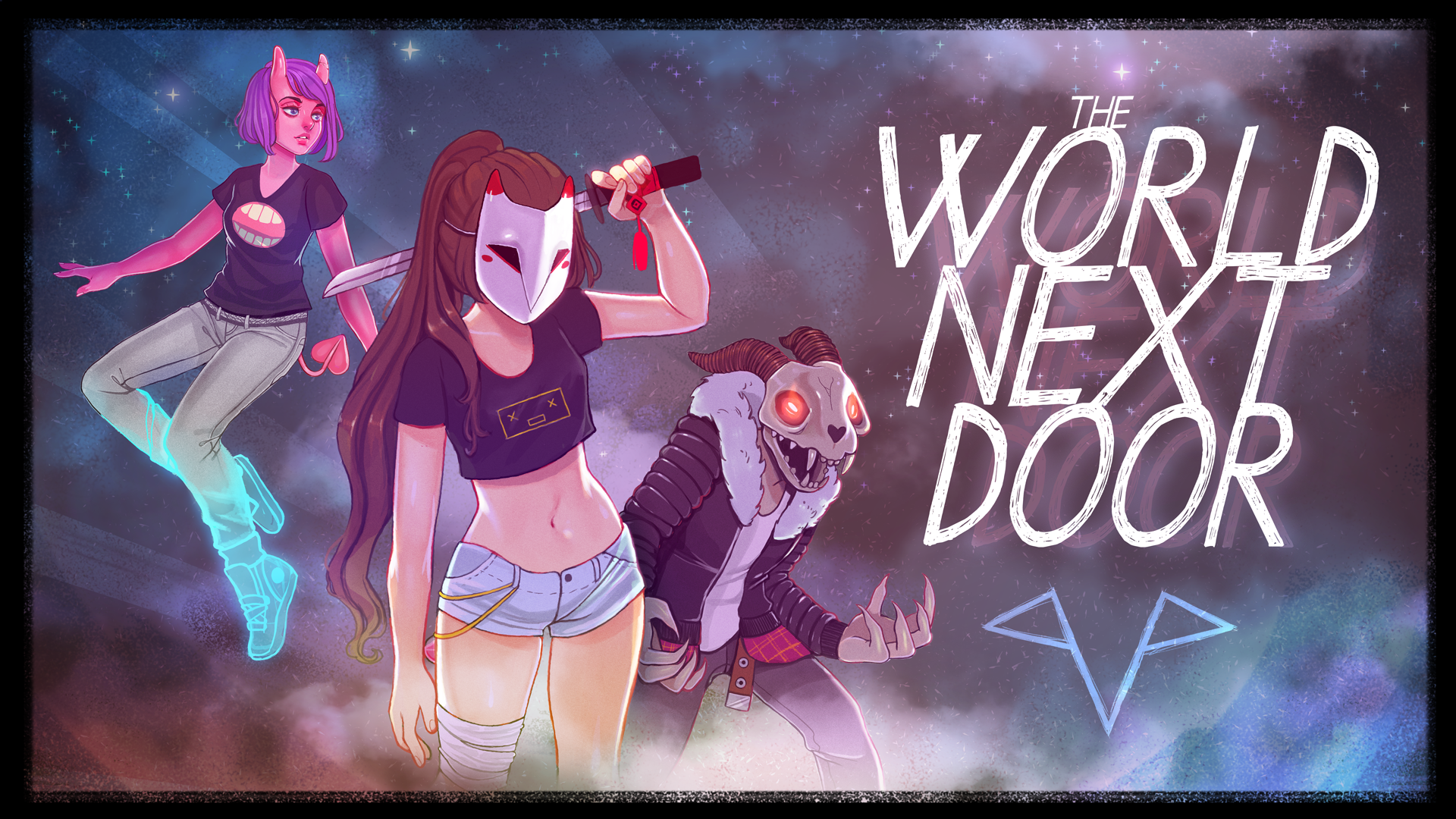 the world next door art