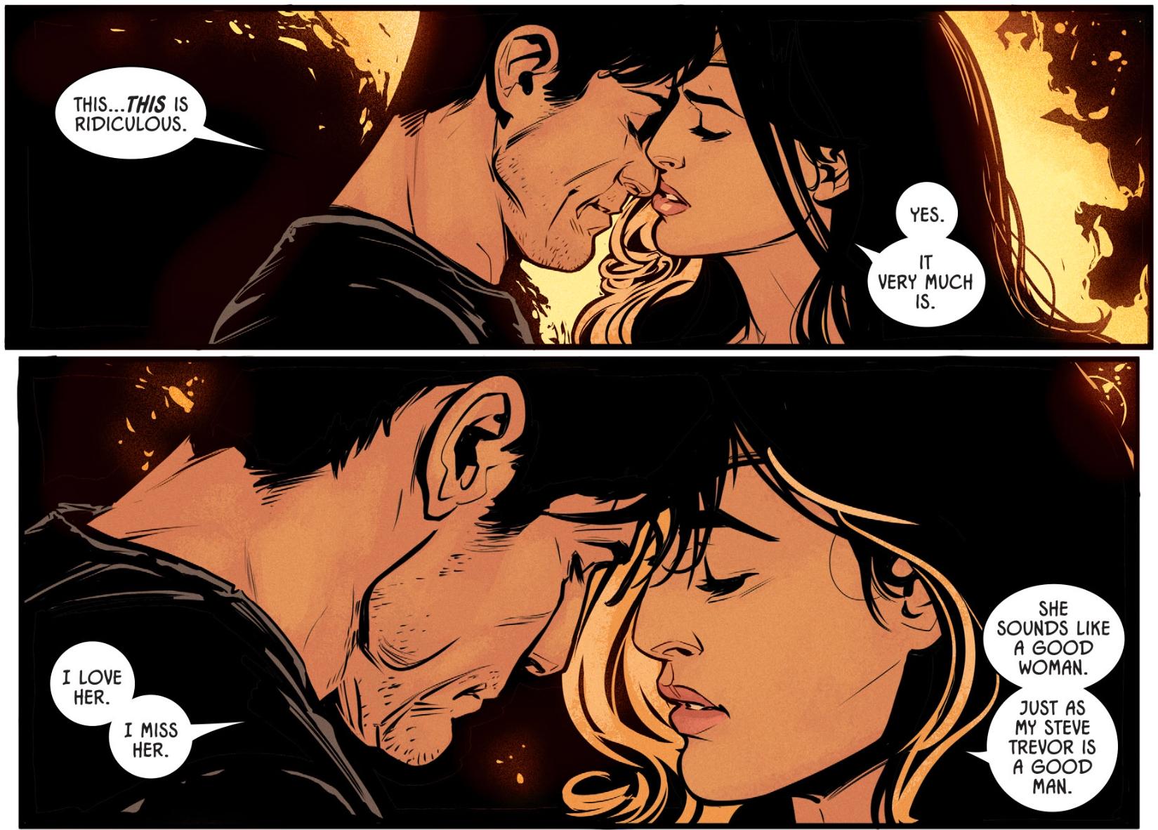 Wonder woman cheats on superman