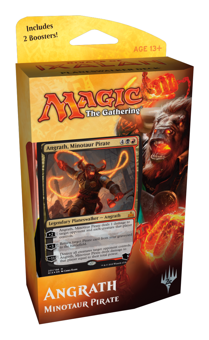 Magic: The Gathering - Angrath, Minotaur Pirate