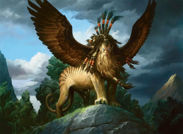 Magic: The Gathering - Sphinx of Magosi art