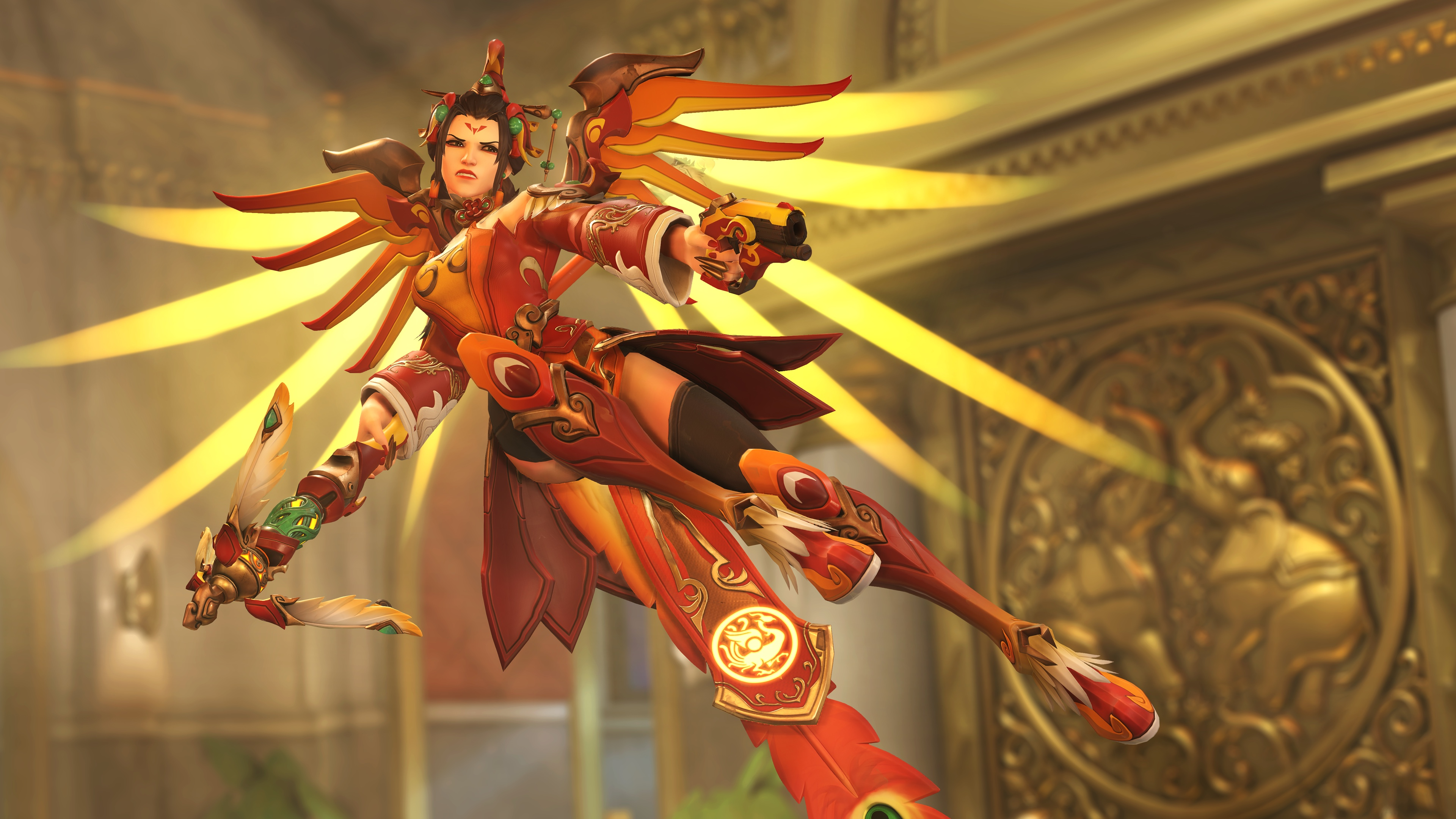 Here Are Overwatch S Lunar New Year Skins For 2018 Polygon