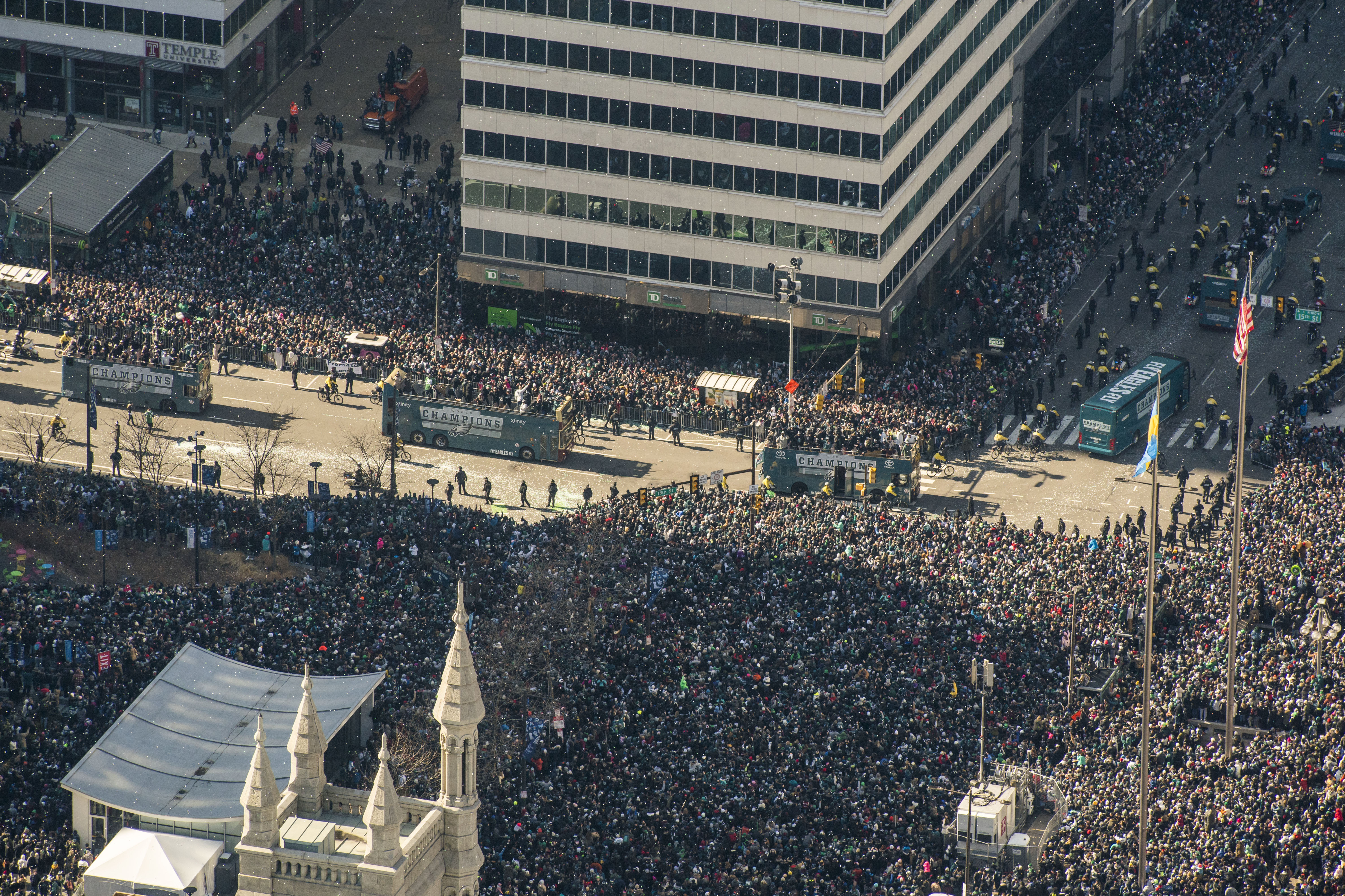 The Eagles parade takes over Philly, in photos