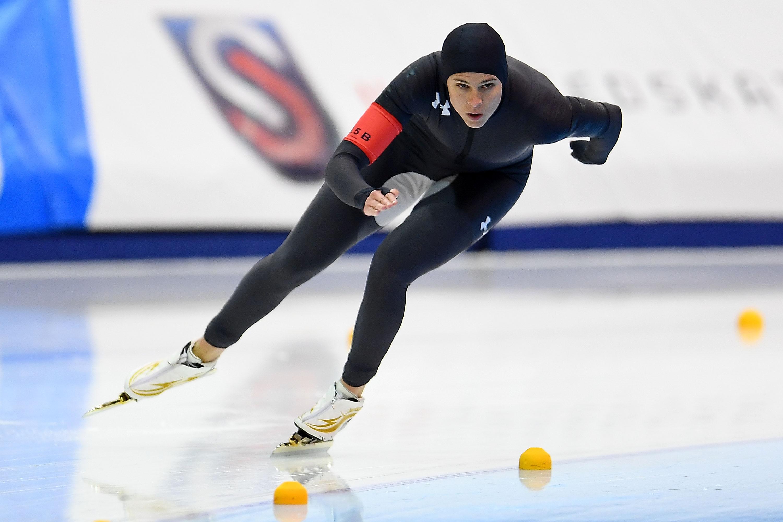Canadain lesbian speed skaters