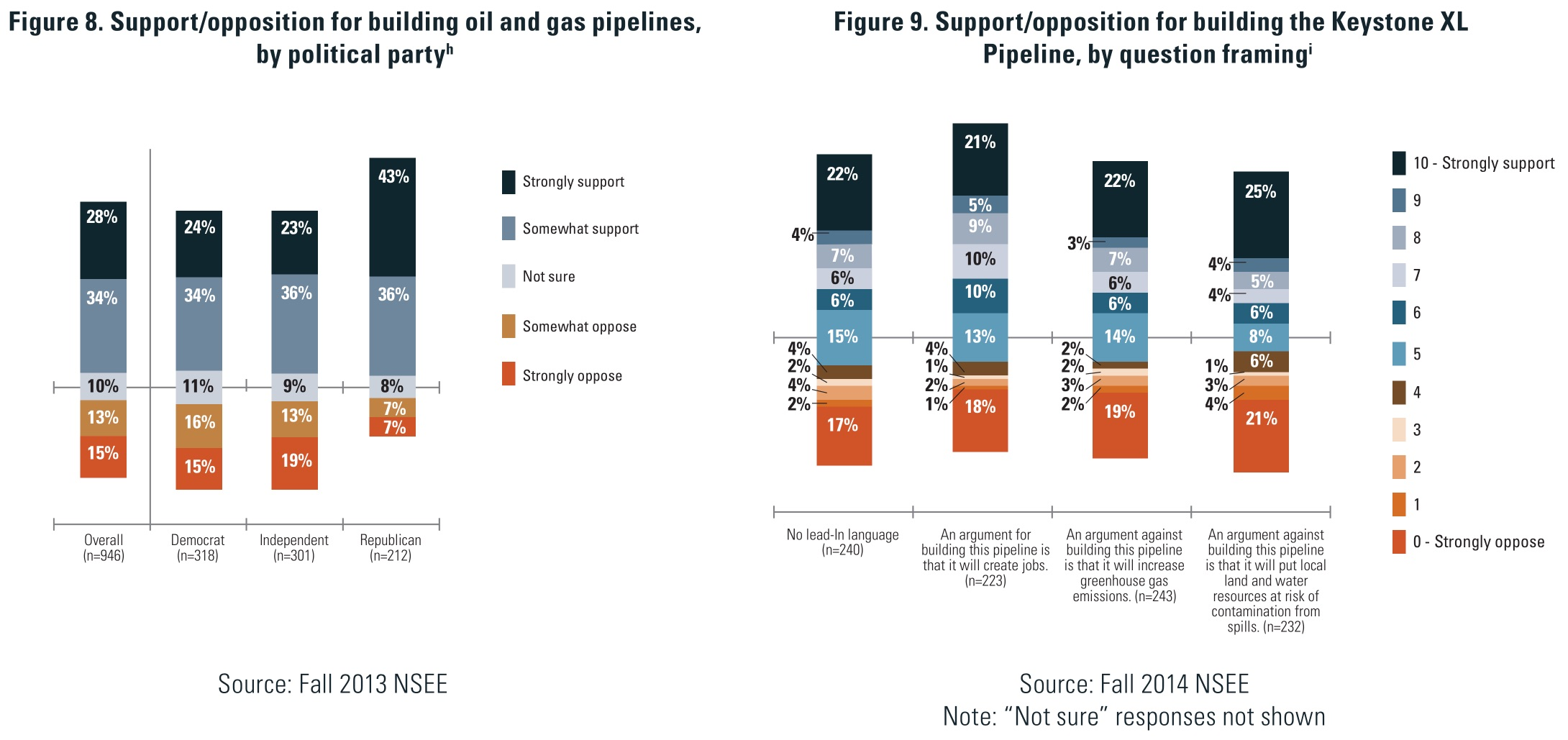 NSEE: public opinion on pipelines