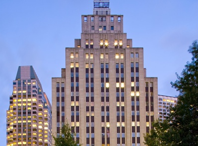 The owner of the Art Deco office building at 50 Post Office Square in  Boston's Financial District is planning to erect a new lobby on High Street  with a ...