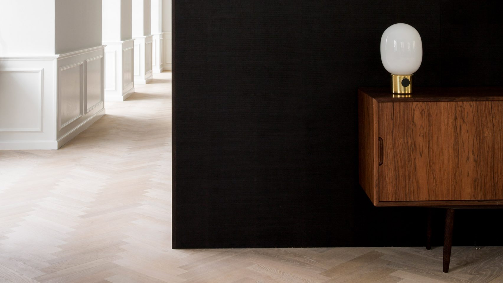 Historic copenhagen home with designer pedigree gets minimalist refresh