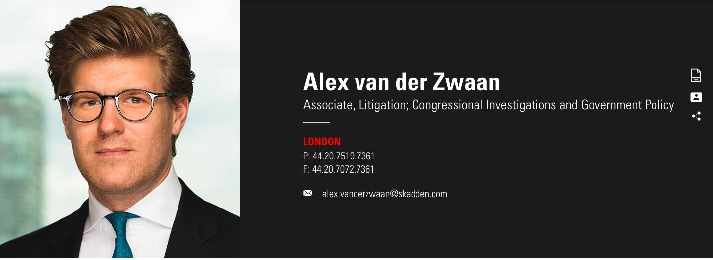 Mueller indicts Alex van der Zwaan: What it means and why ...