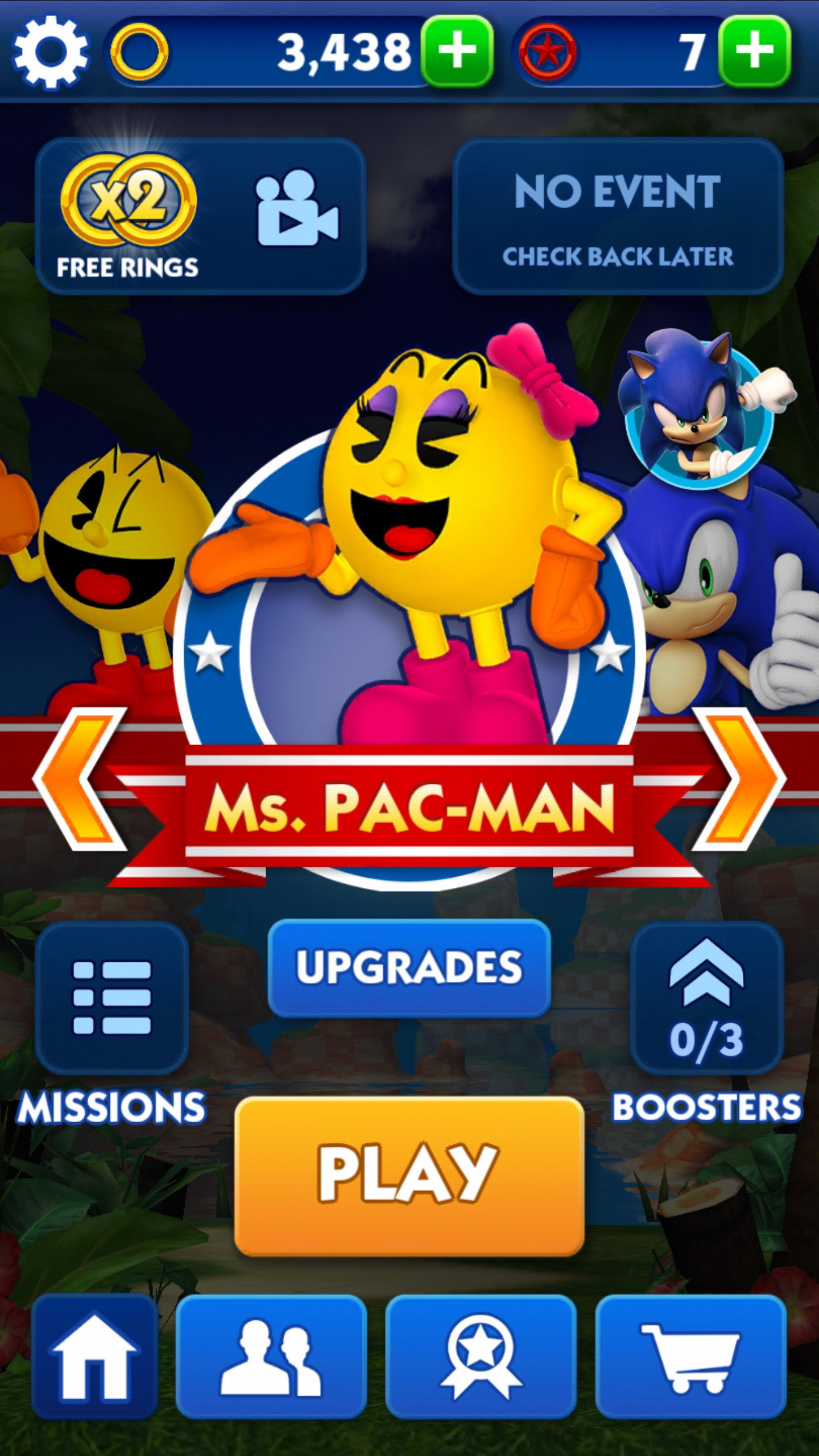Ms pac man game play for free