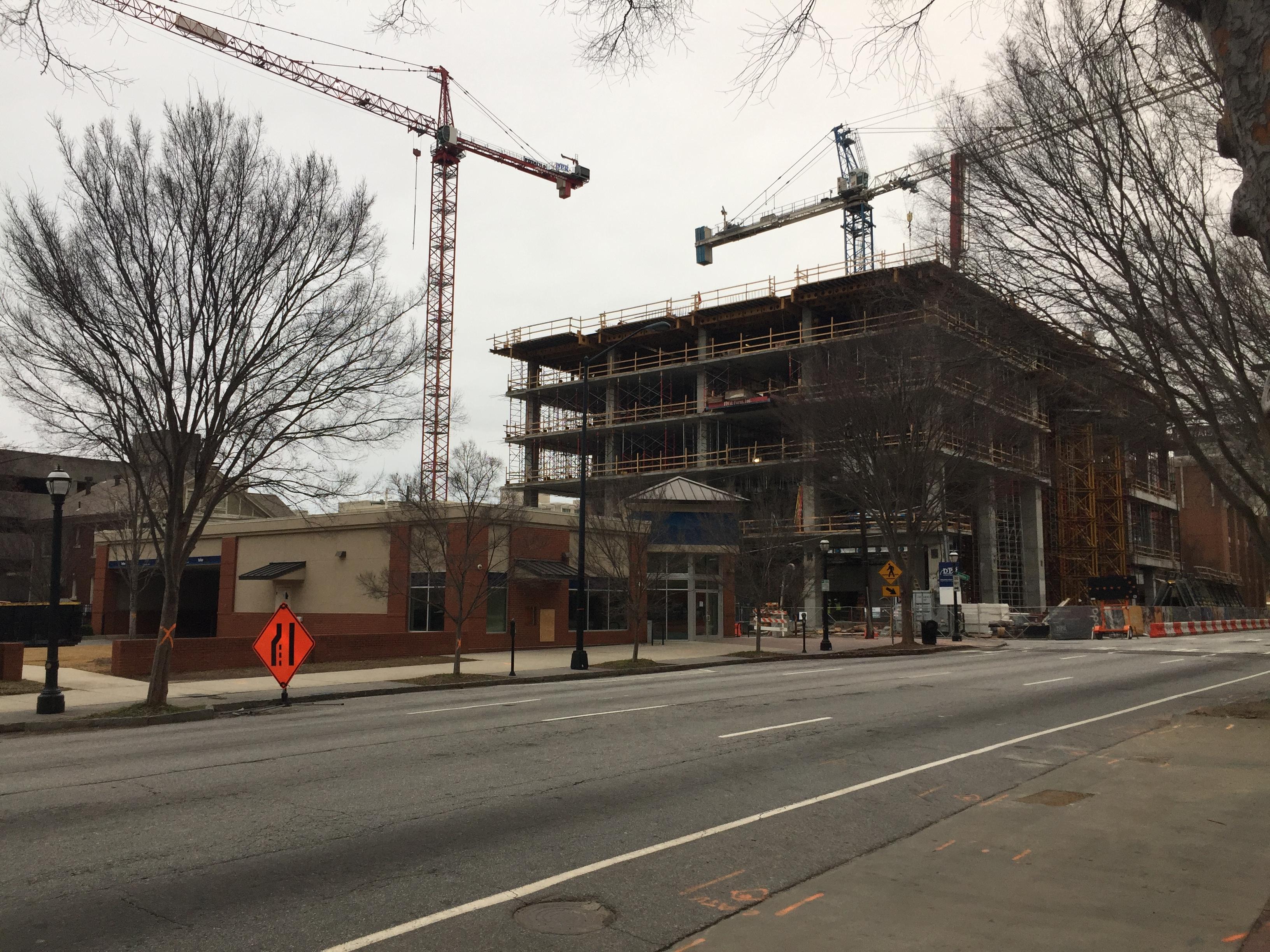 Swift demolition marks start of Midtown's Anthem tower