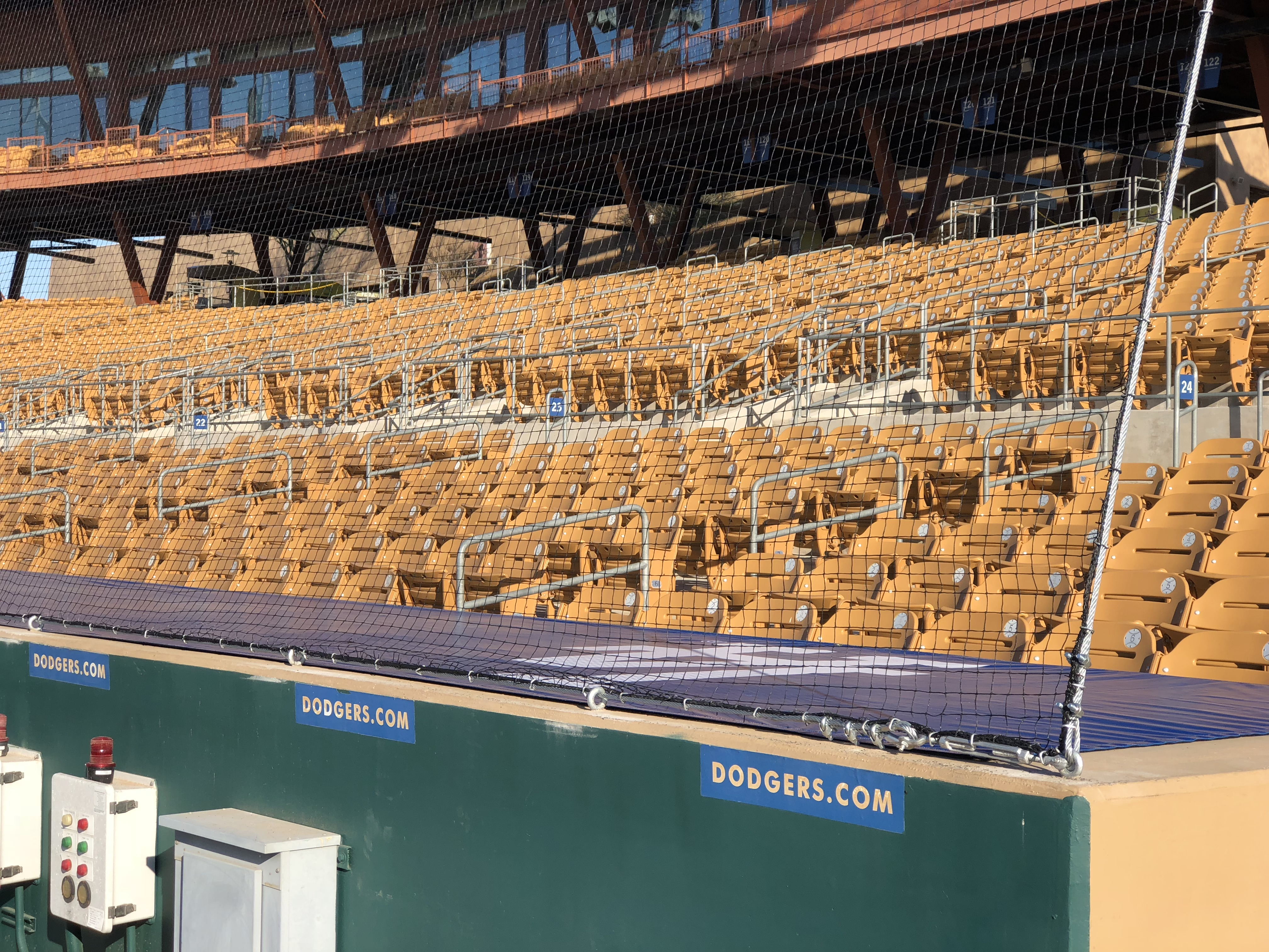 Protective Netting Extended At Both Dodger Stadium And Camelback