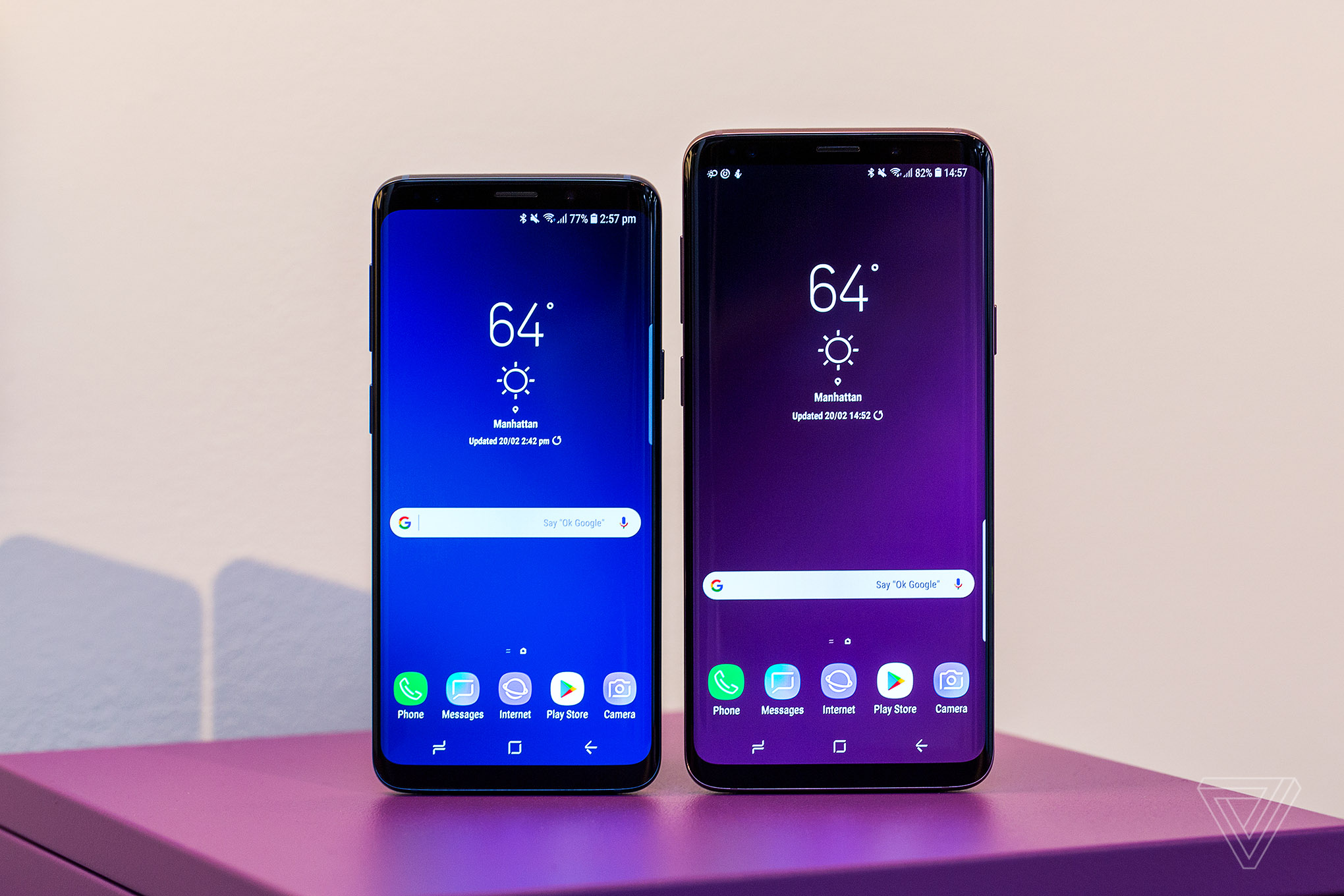 samsung galaxy s9 and s9 plus the best and worst features the verge. Black Bedroom Furniture Sets. Home Design Ideas