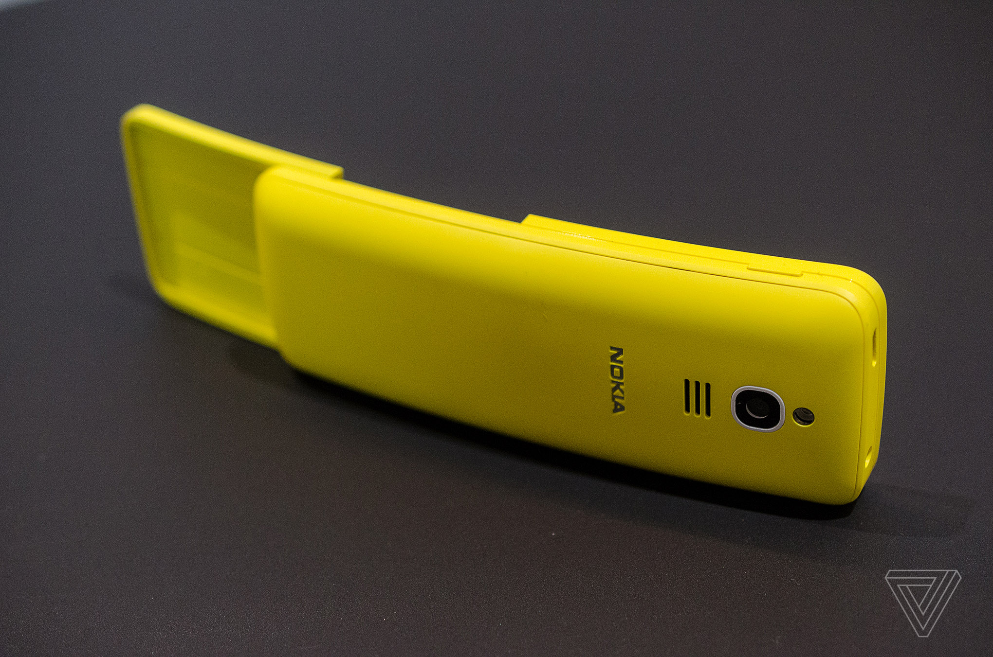 Nokias Banana Phone From The Matrix Is Back Verge Nokia Xl Yellow Photo By Tom Warren