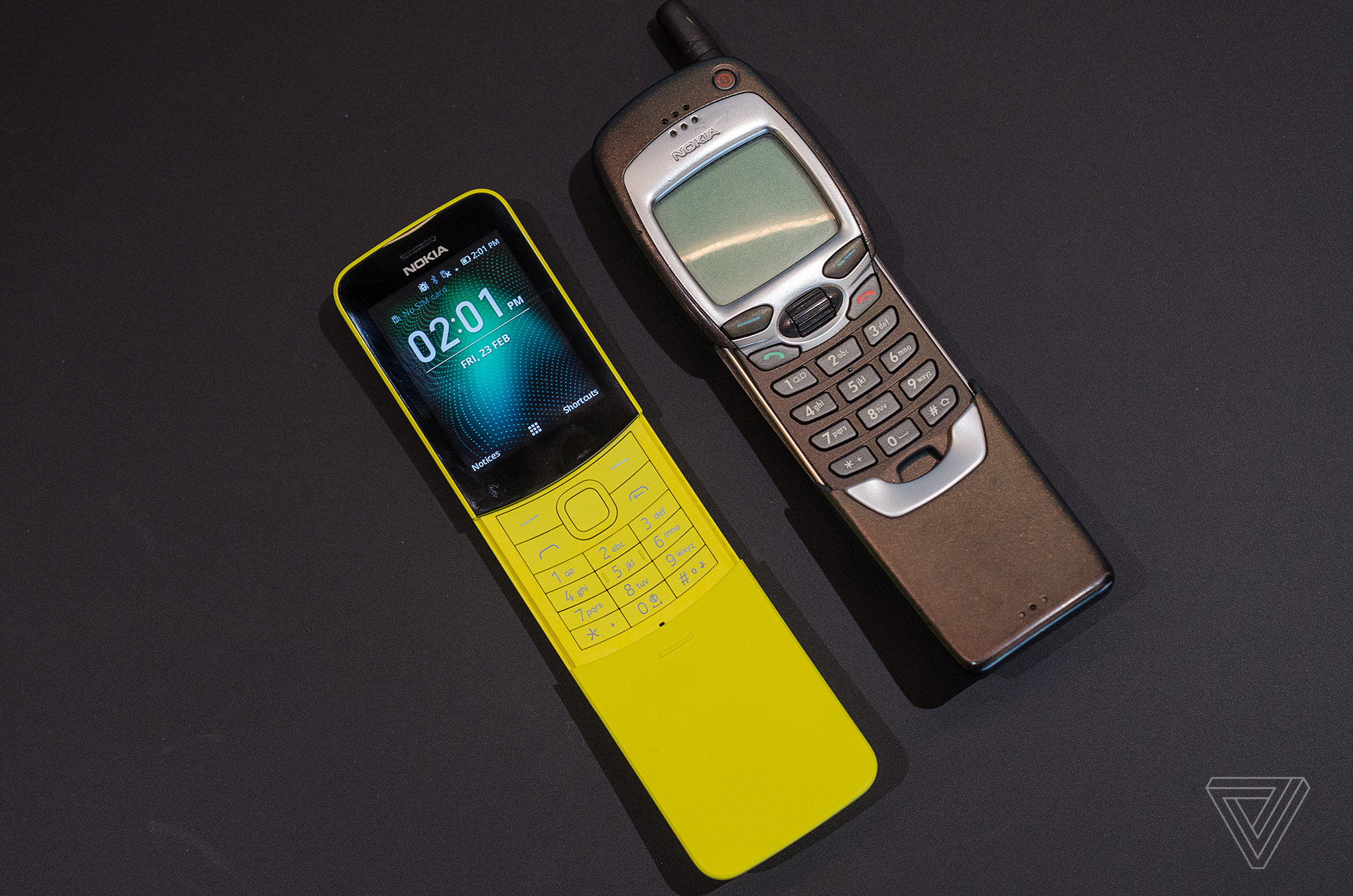 Nokias Banana Phone From The Matrix Is Back Verge Mobile Circuit Board History Photo By Tom Warren
