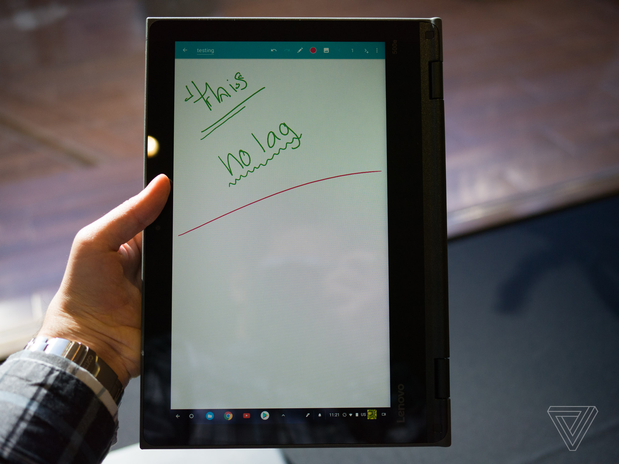Lenovo S Rugged Chromebooks For Schools Make Note Taking A