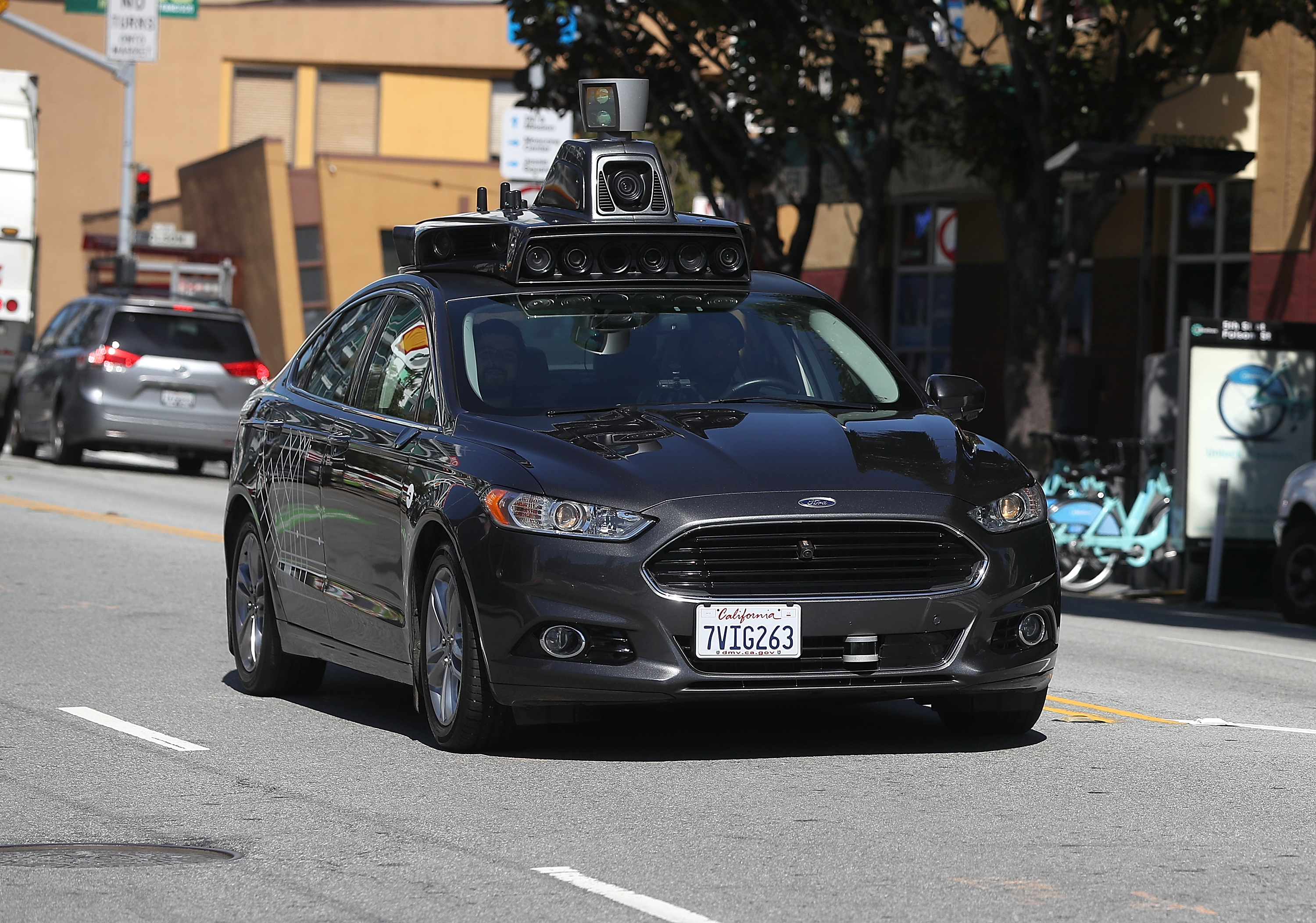 California may approve human-free driverless cars - Curbed SF