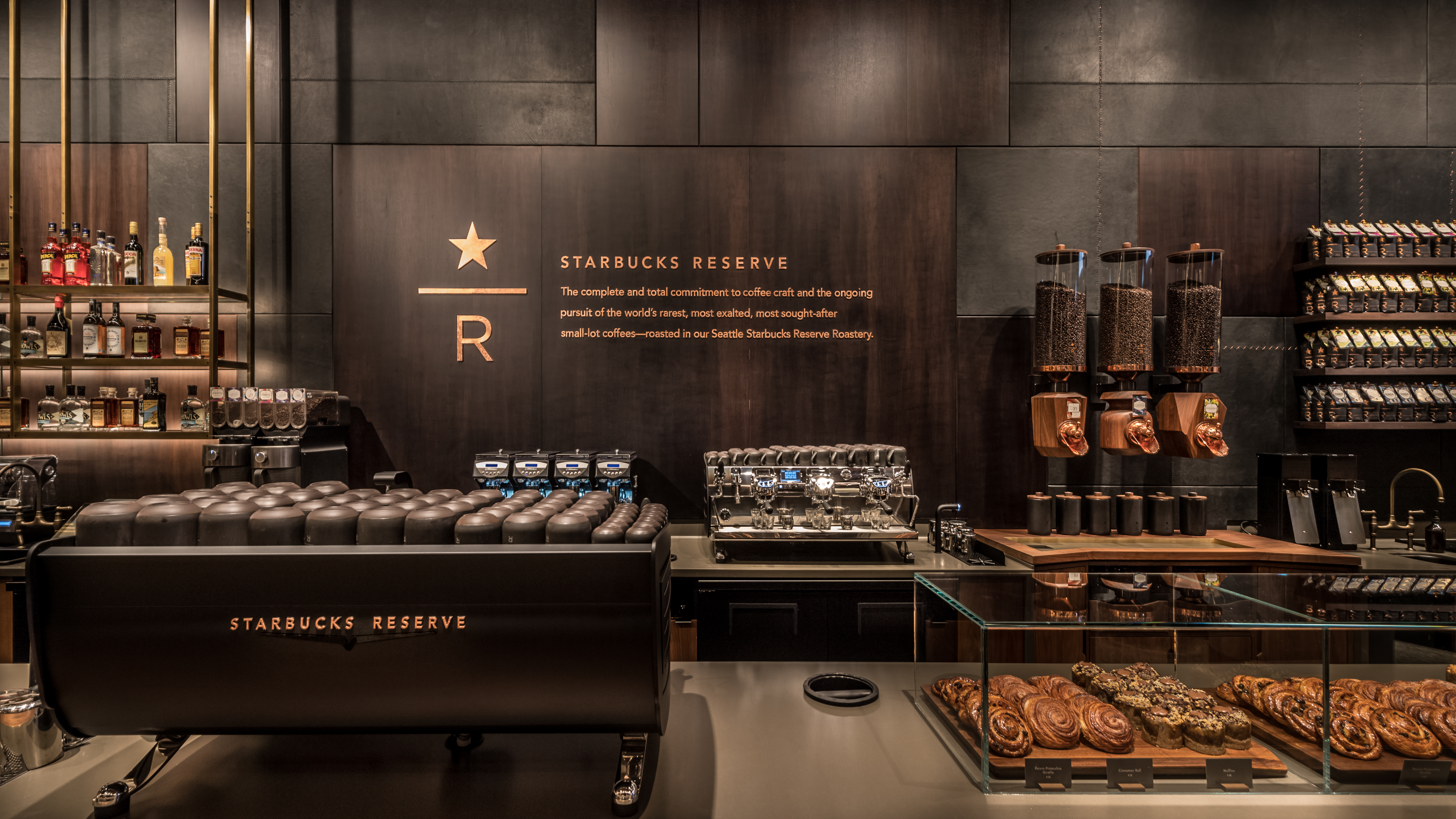 Starbucks Launches Fancy Italian Influenced Reserve Store