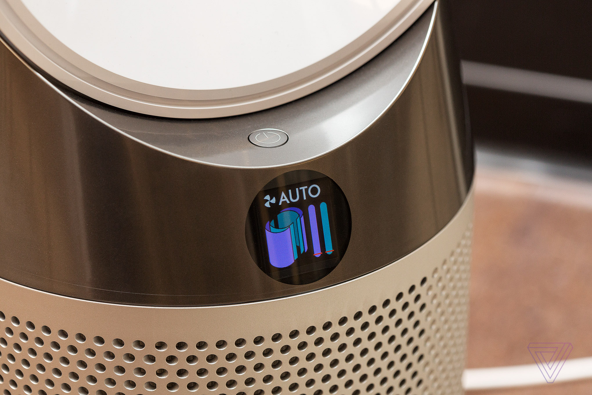 Dyson's new air purifier has an LCD screen that tells you