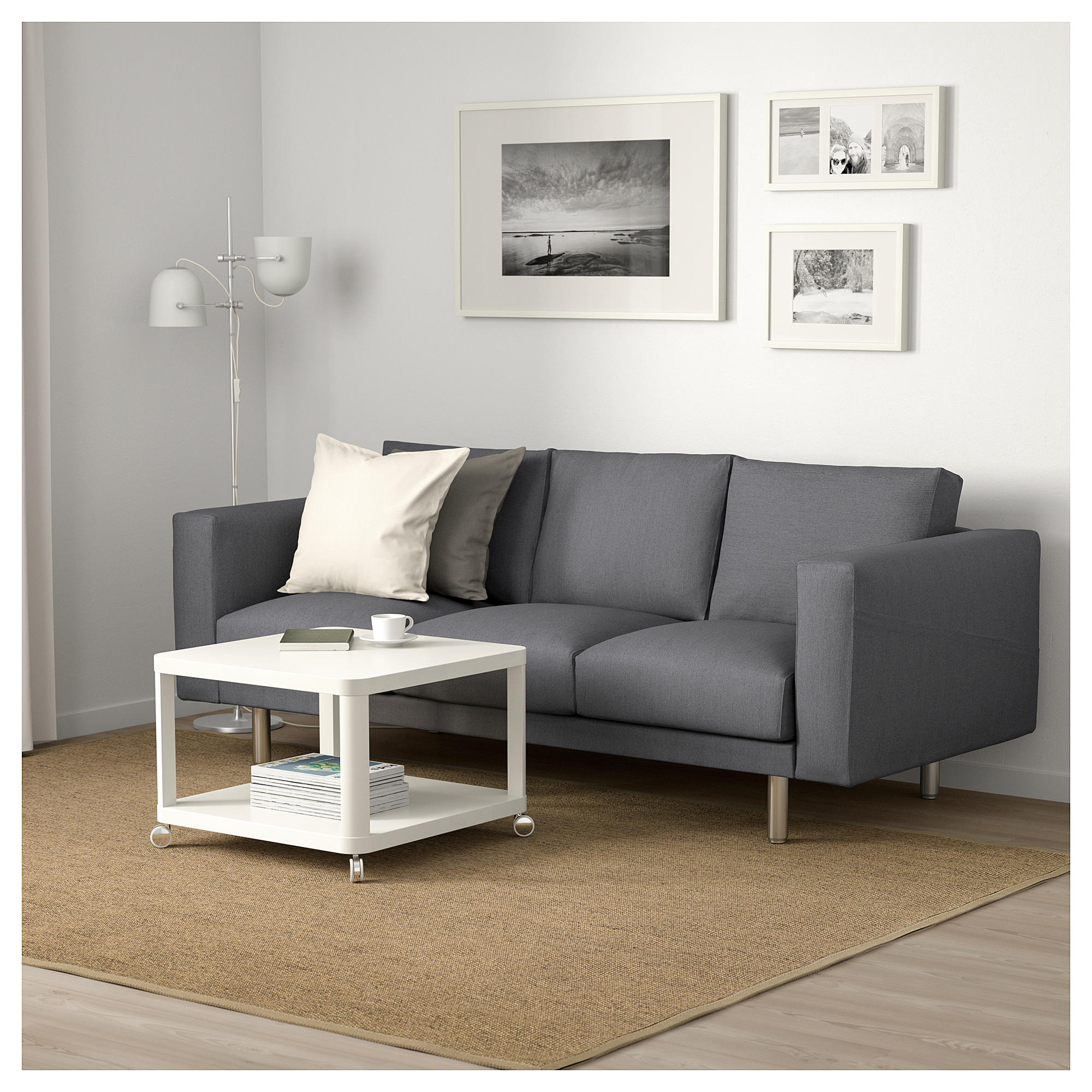 Nice Cheap Living Room Furniture. The Norsborg sofa  seen here in Finnsta dark grey with metal legs Ikea Where to buy affordable home essentials Curbed