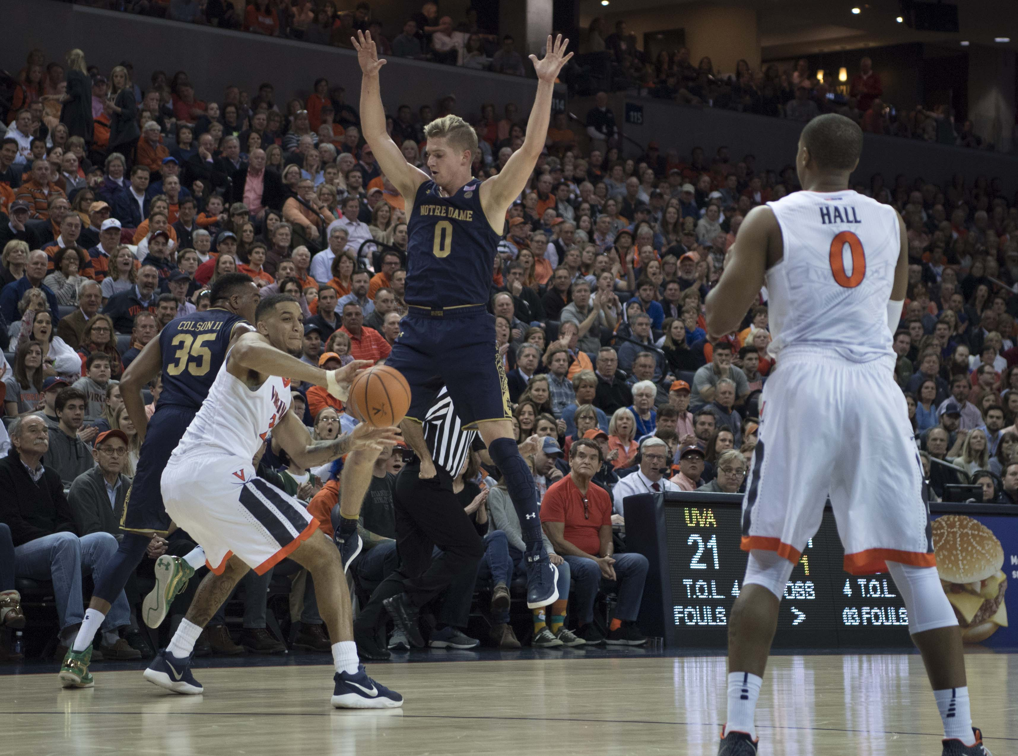 Quick Recap: Notre Dame Men's Basketball Falls Short at #1 ...