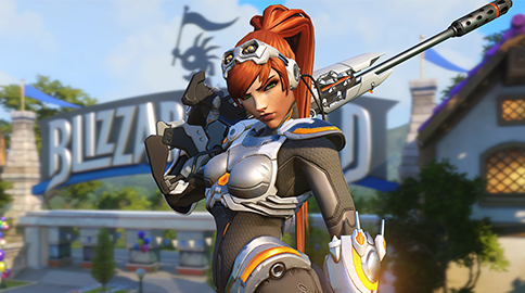 Overwatch's Widowmaker Getting StarCraft Anniversary Skin