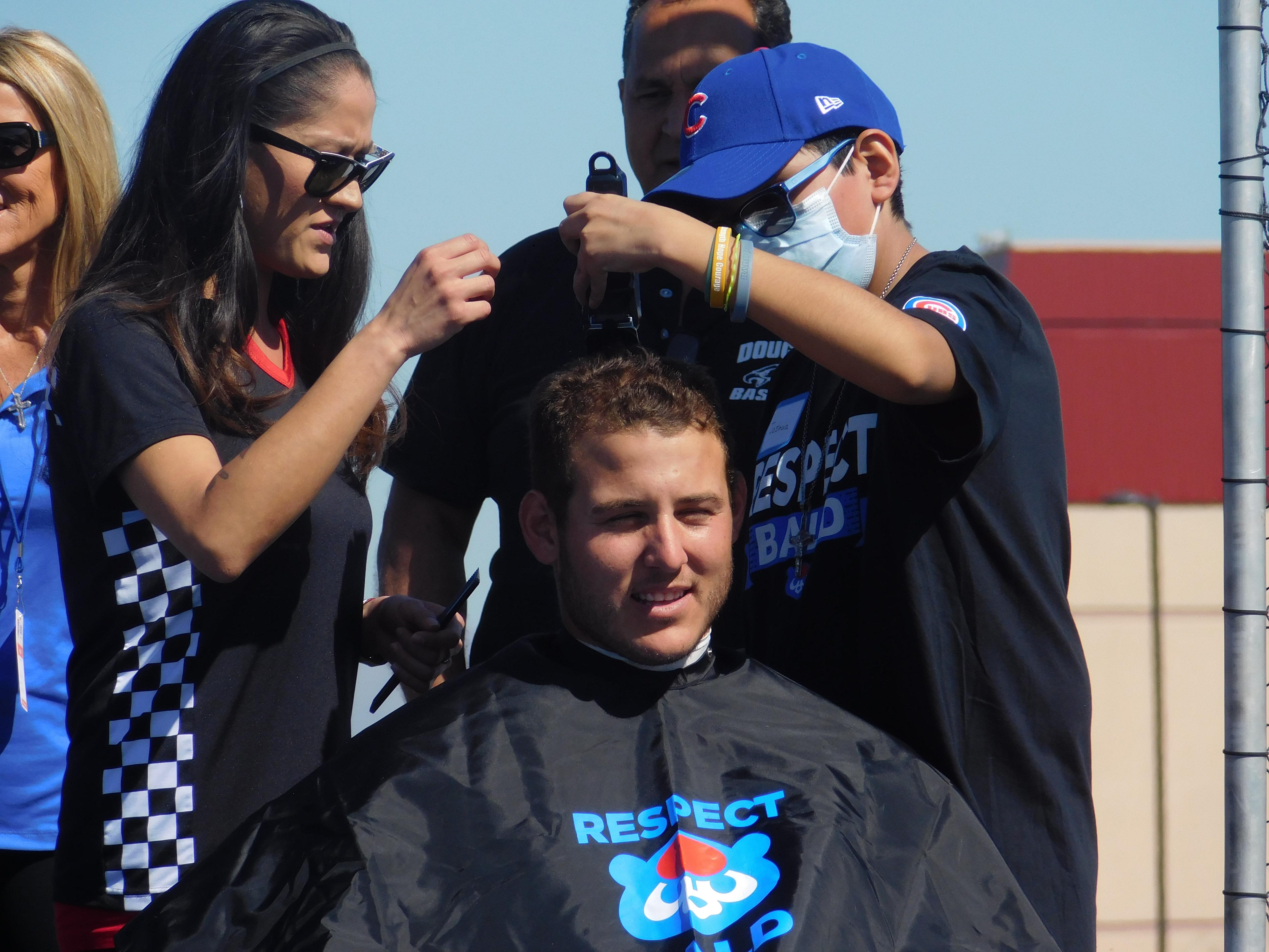 Tony rizzo head shaved you tube