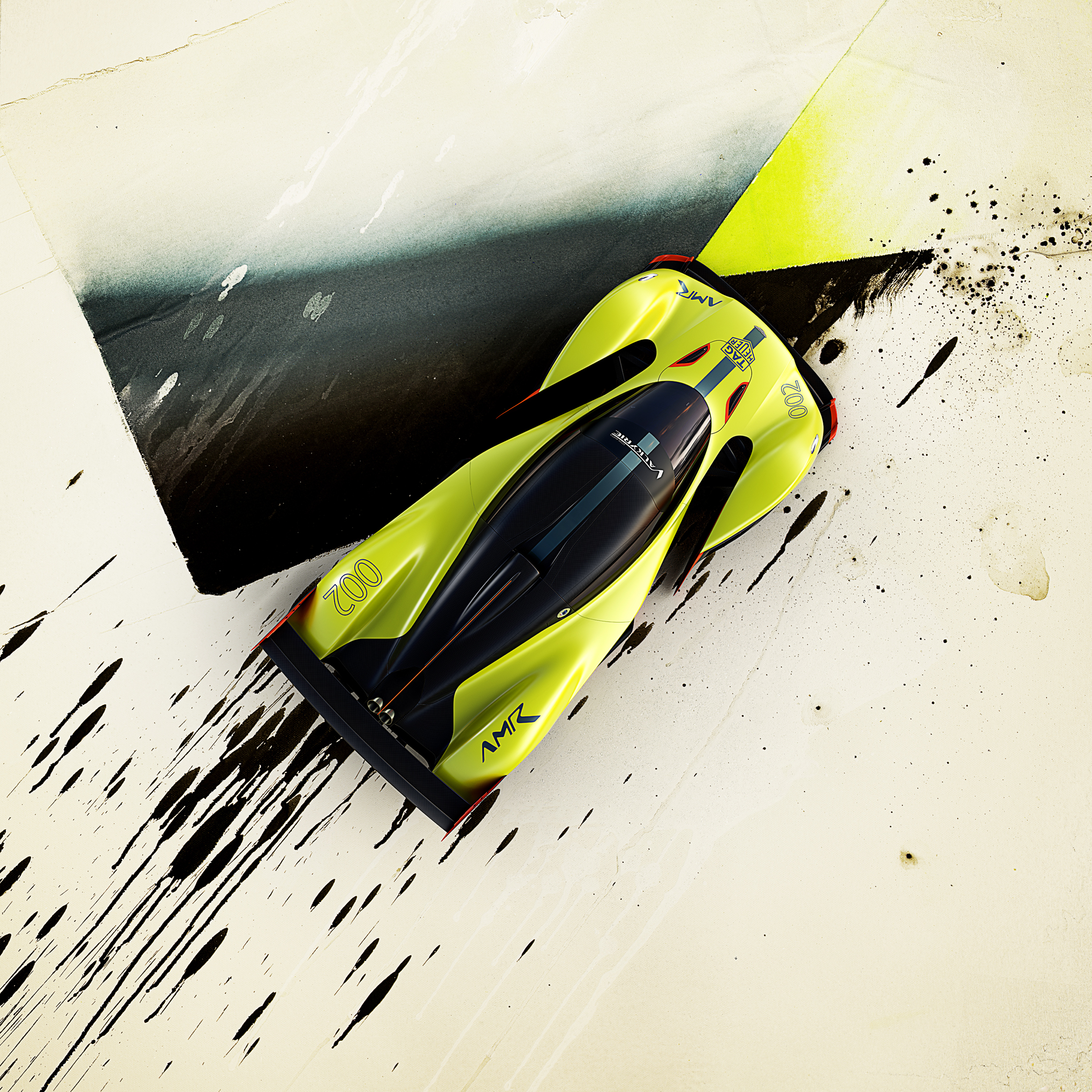 Aston Martin's New Hypercar Is An 1,100 Horsepower Asphalt