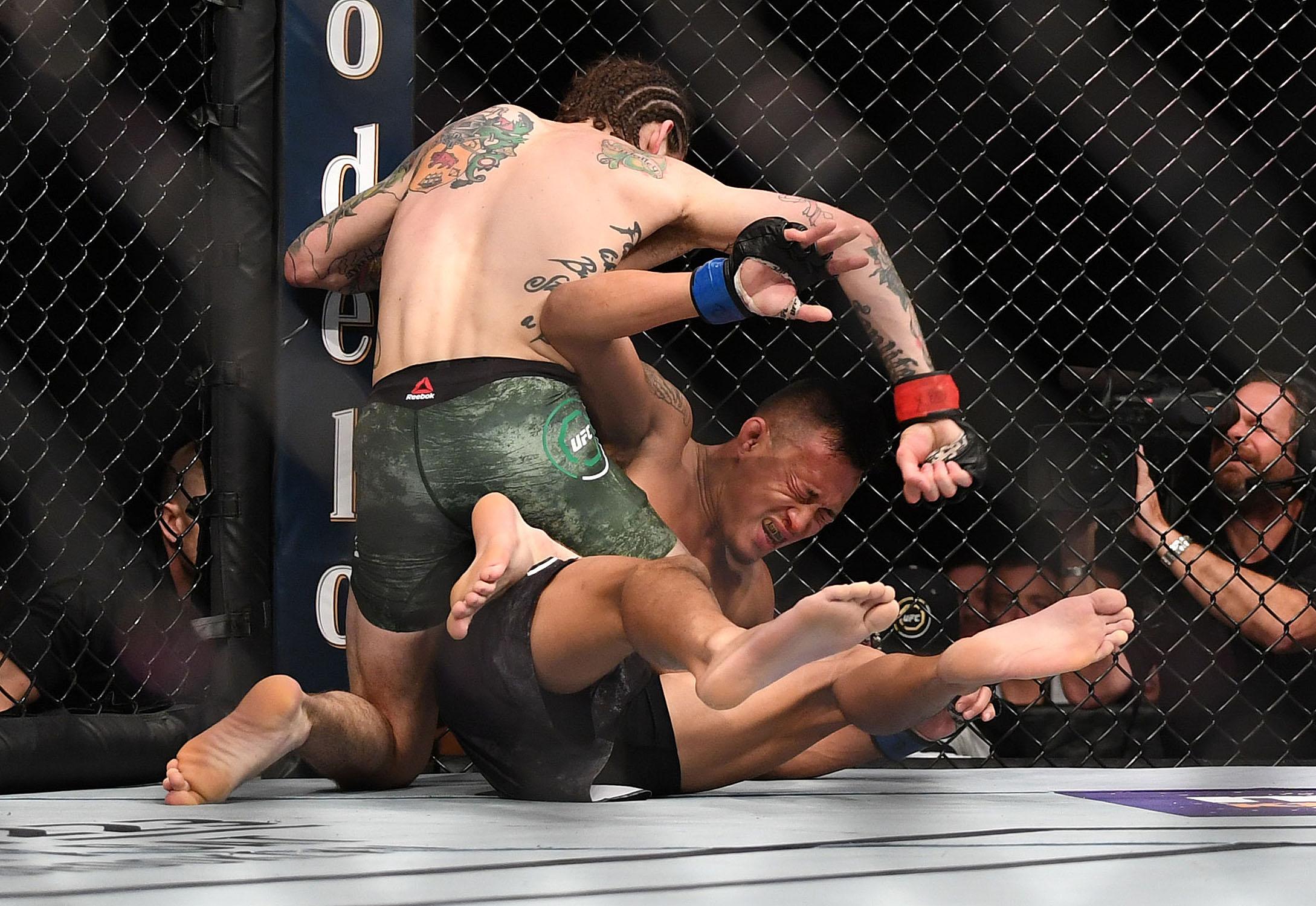MMA: UFC 222-O'Malley vs Soukhamthath