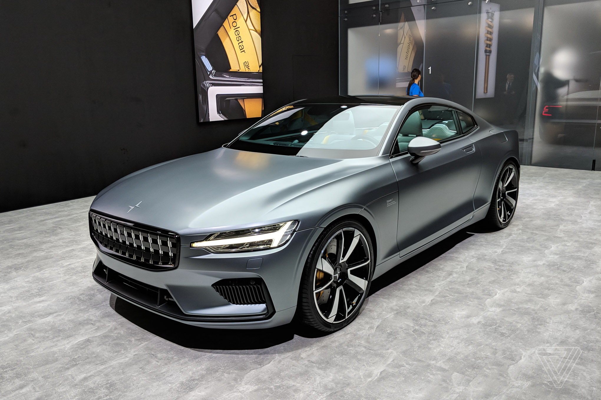 This is the Polestar 1, Volvo's new turbocharged electric coupe - The Verge