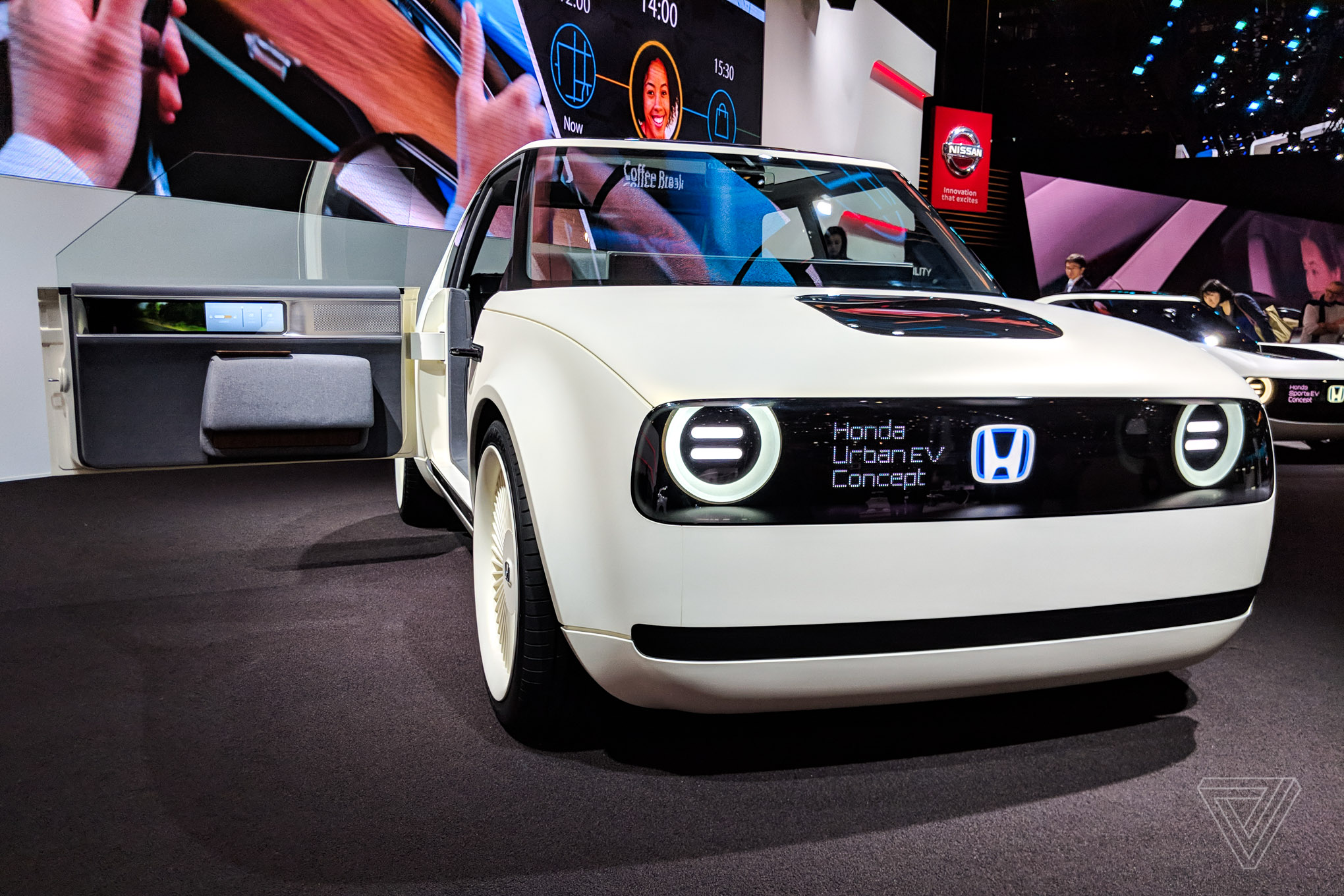 Honda S Urban Ev Concept Is Even More Adorable In The Flesh The Verge