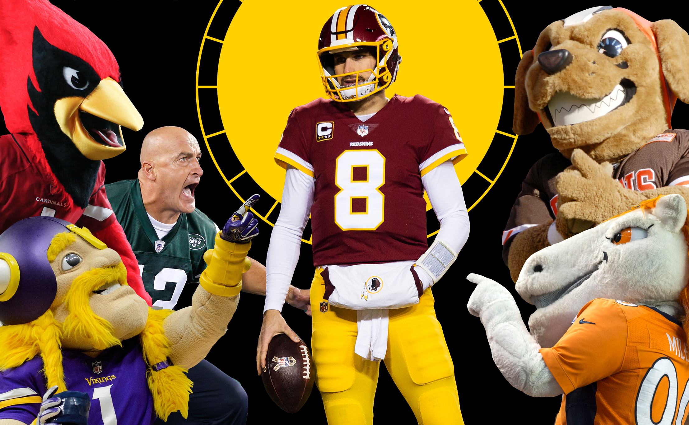 What's Kirk Cousins done to get millions?