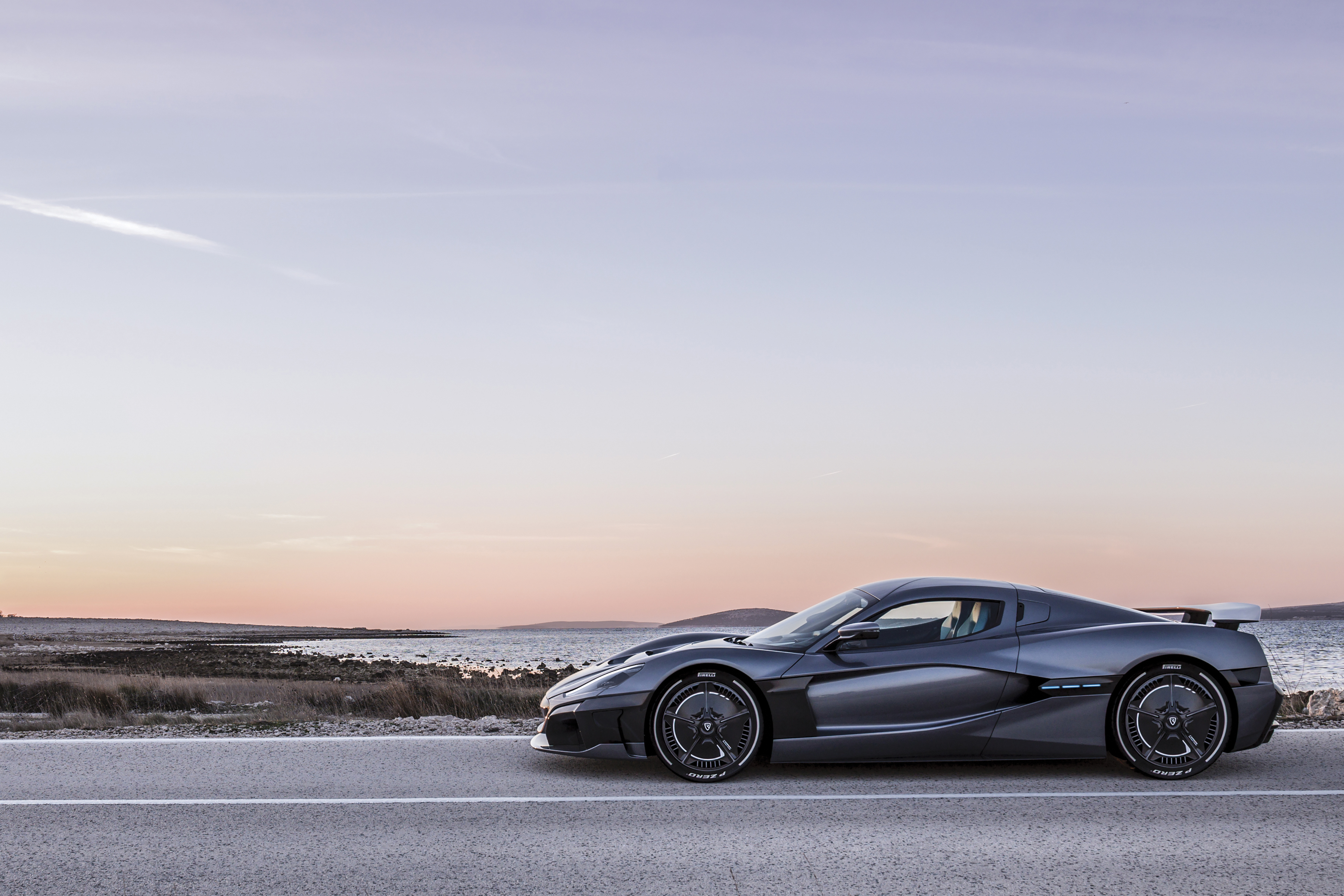 Rimac S New Electric Hypercar Can Go 0 60 Faster Than It