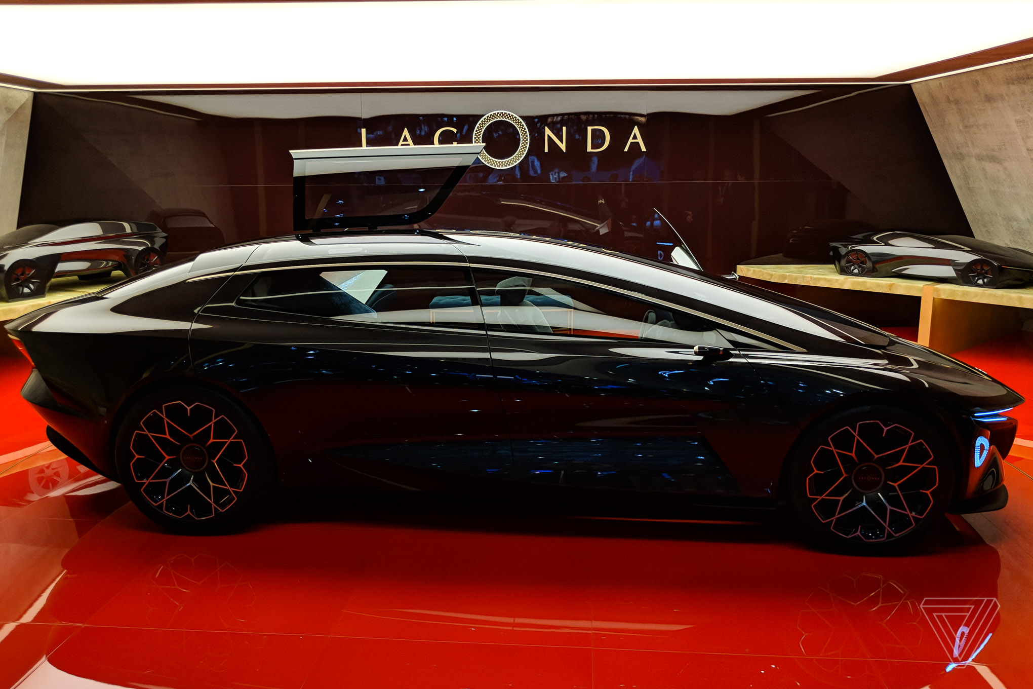 Aston Martin S Lagonda Concept Car Is Breathtaking The Verge