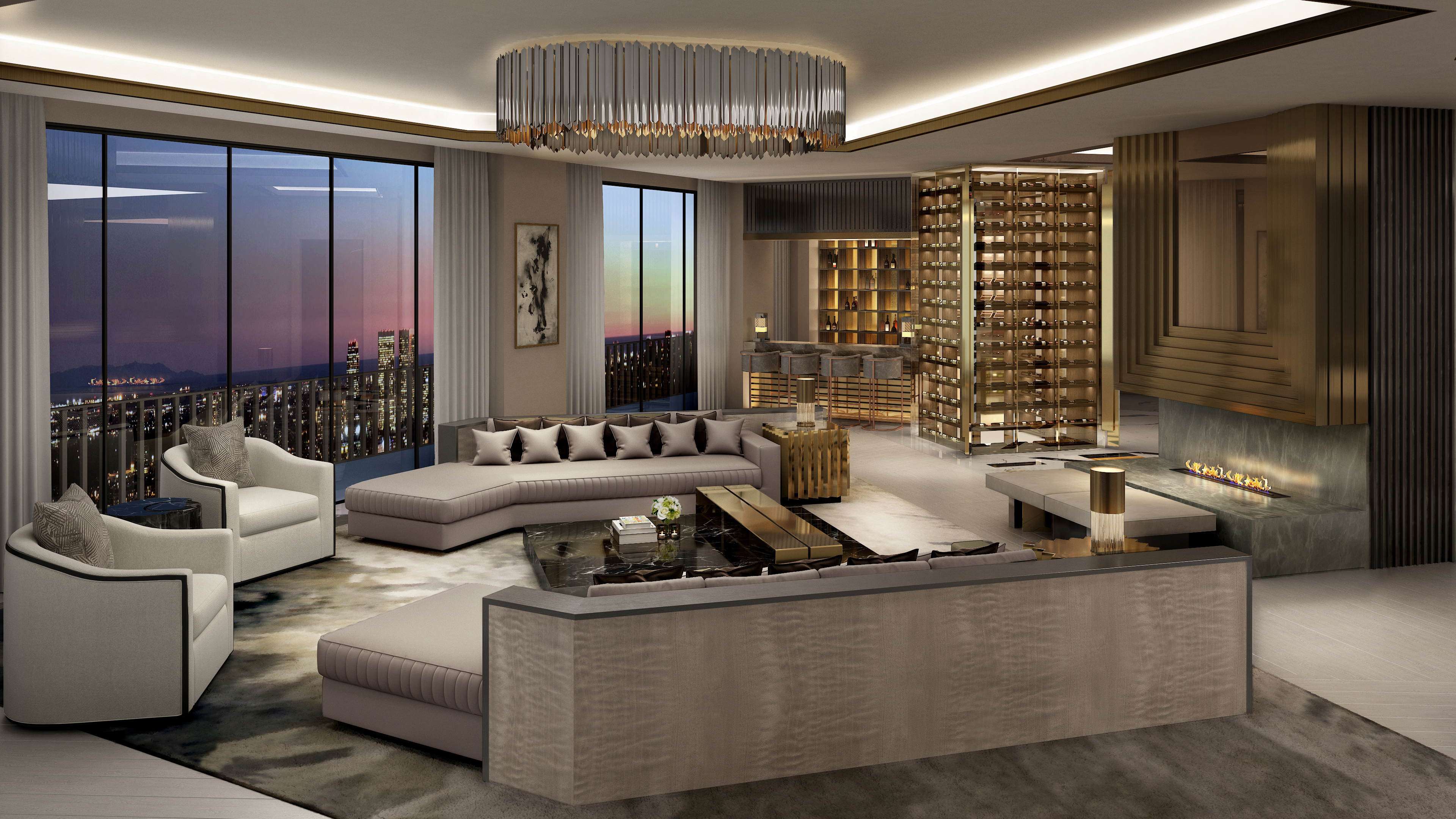 Sierra Towers Top Floor Up For Sale With A 58 Million