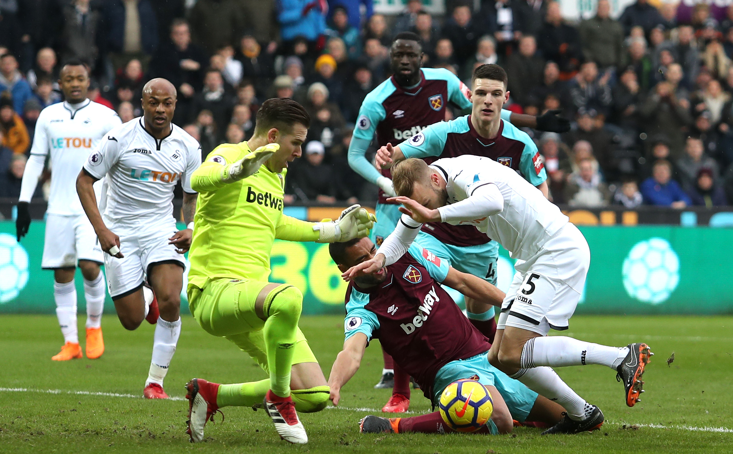 West Ham's Winston Reid to miss rest of season