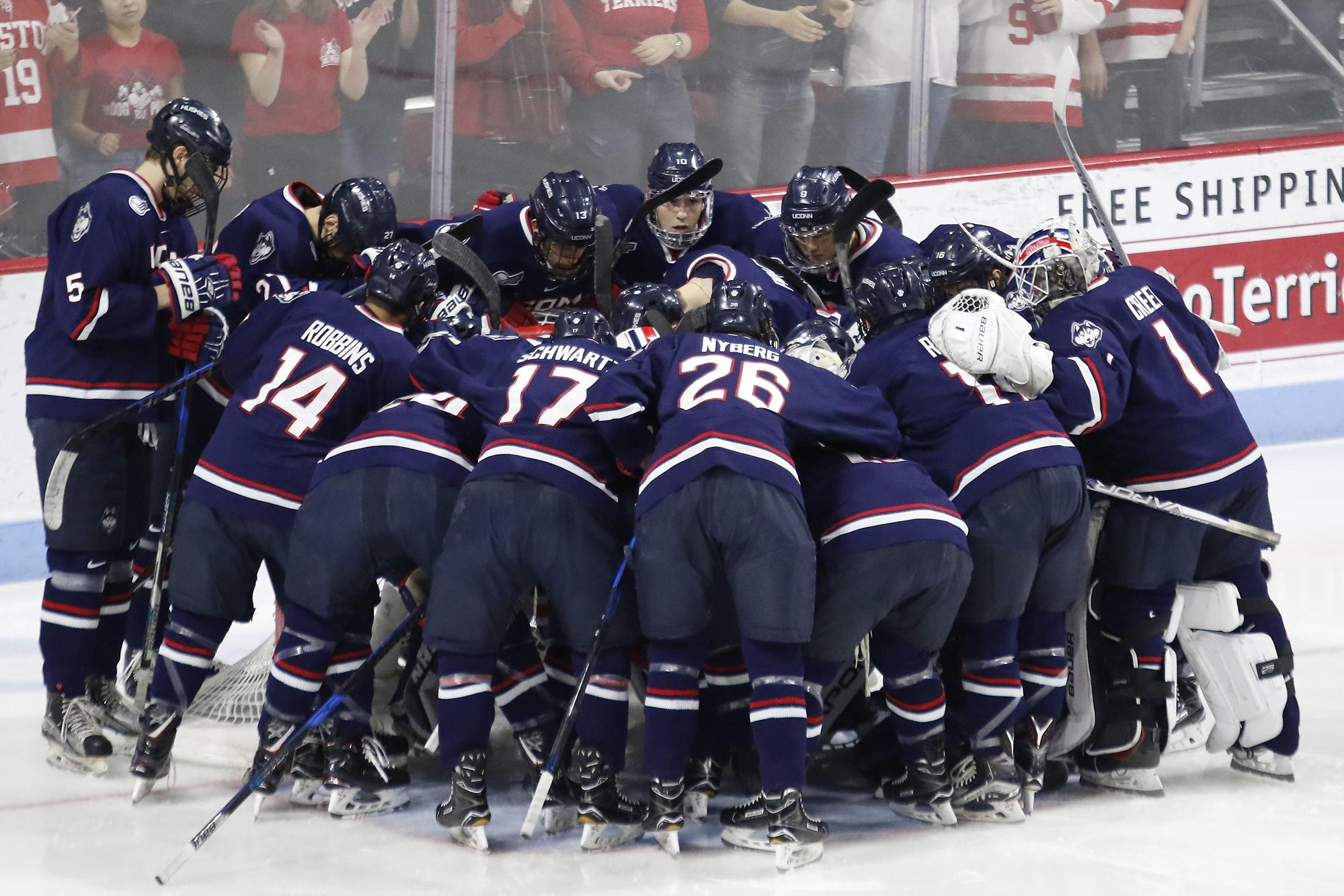 UConn Huskies @ BU Terriers (Hockey East Quarterfinals Game 2) - The