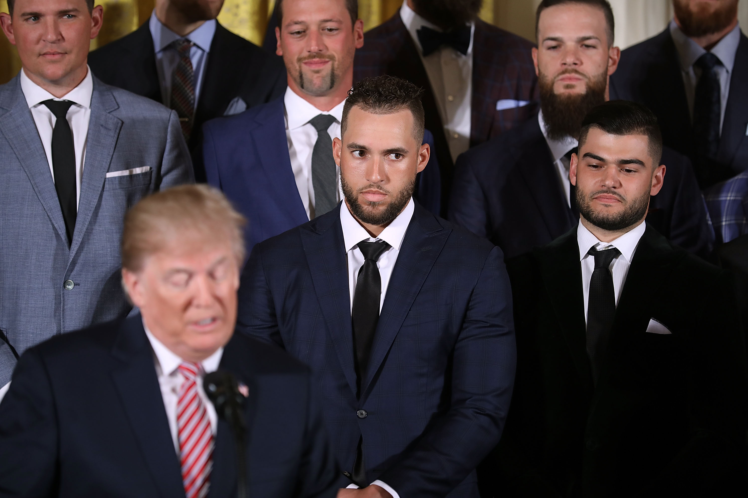 Donald Trump Welcomes World Series Champion Houston Astros To The White House