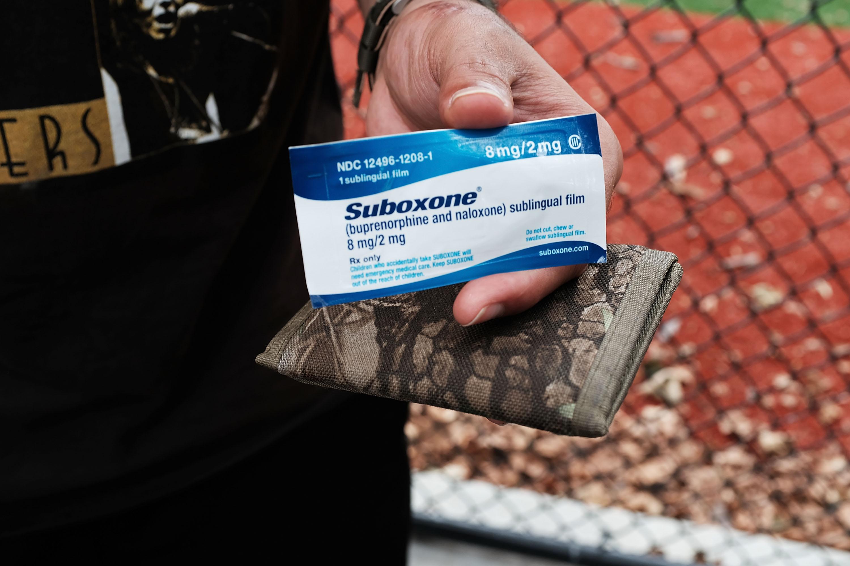 A box of Suboxone.