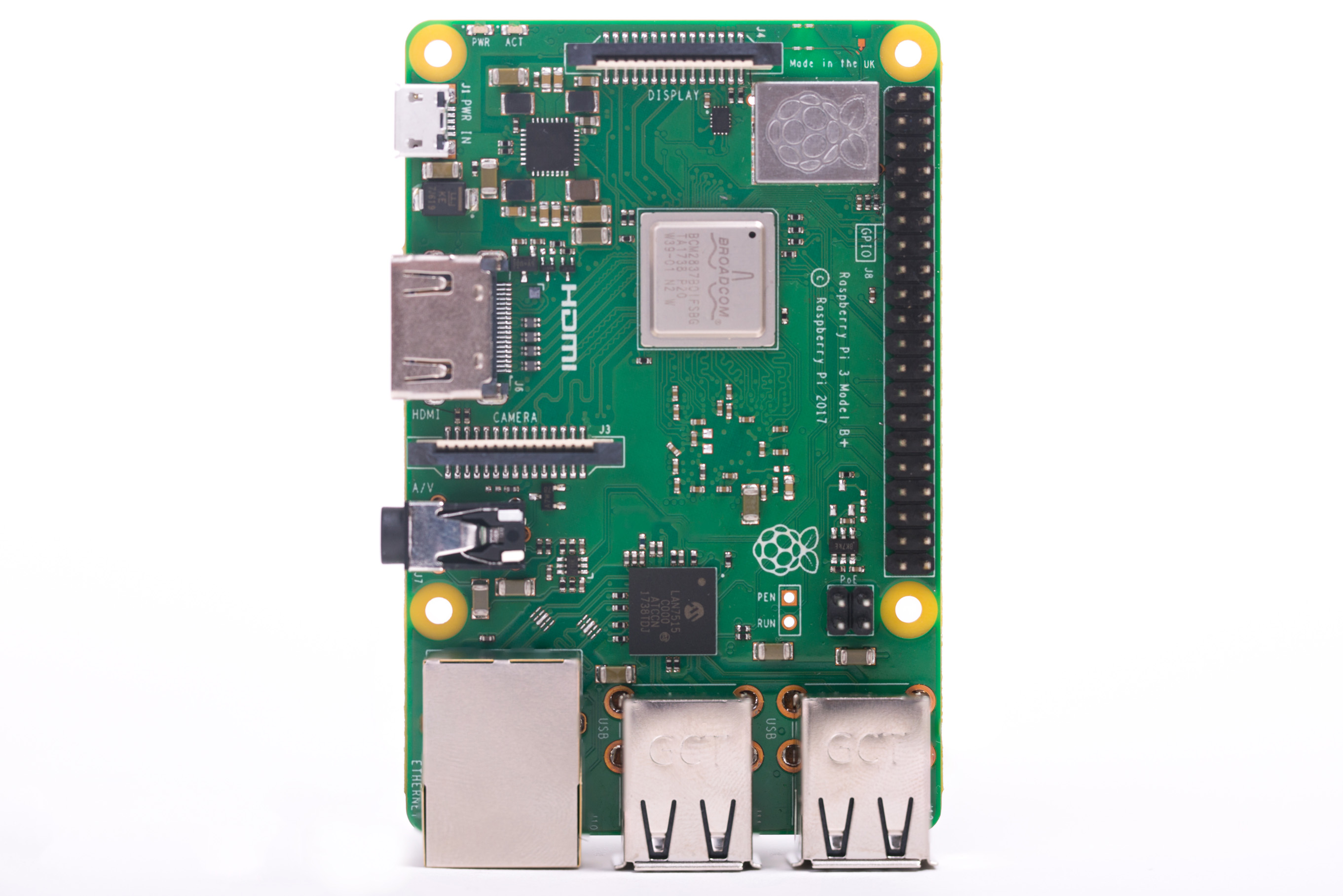 Raspberry Pi 3B+ Launched with Faster CPU and Networking