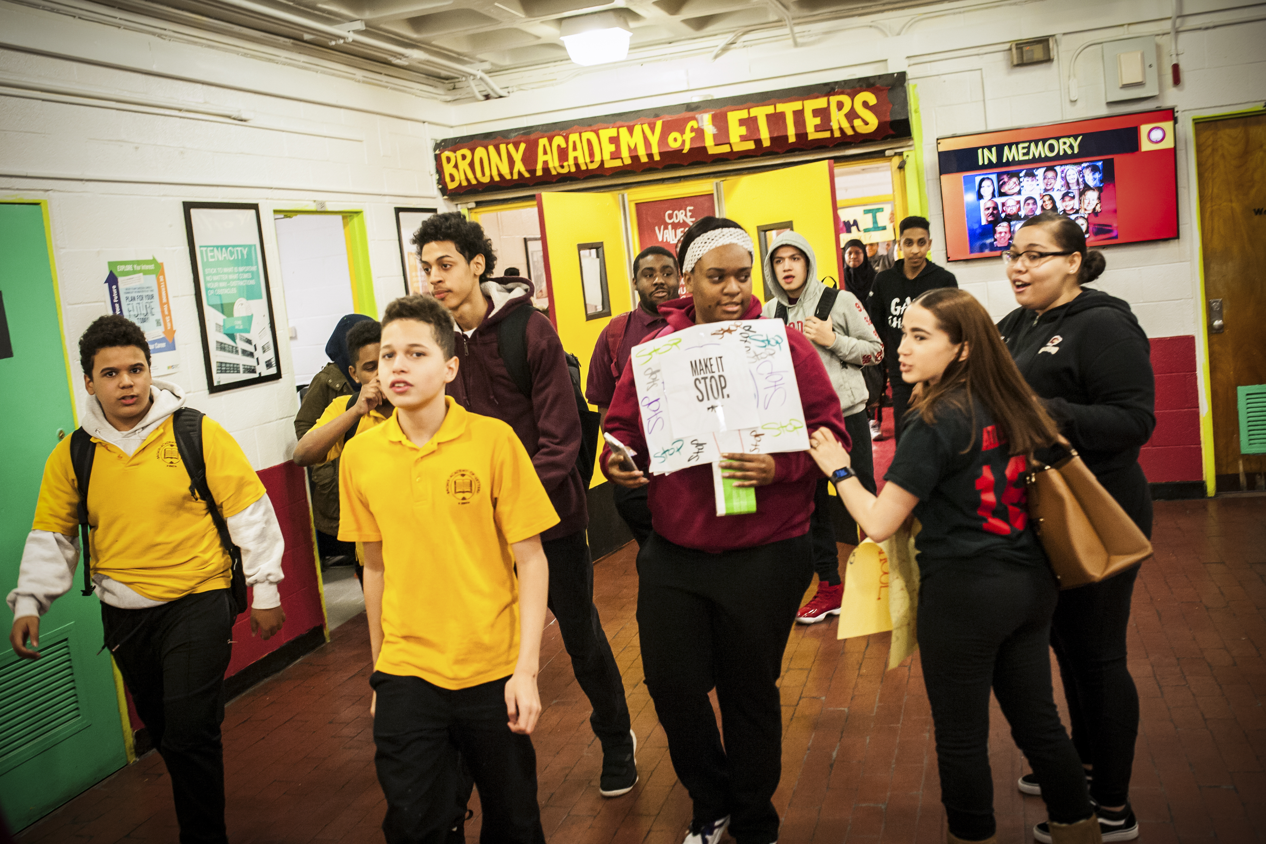 bronx academy of letters gun why the walkouts and marches need boys vox 20683