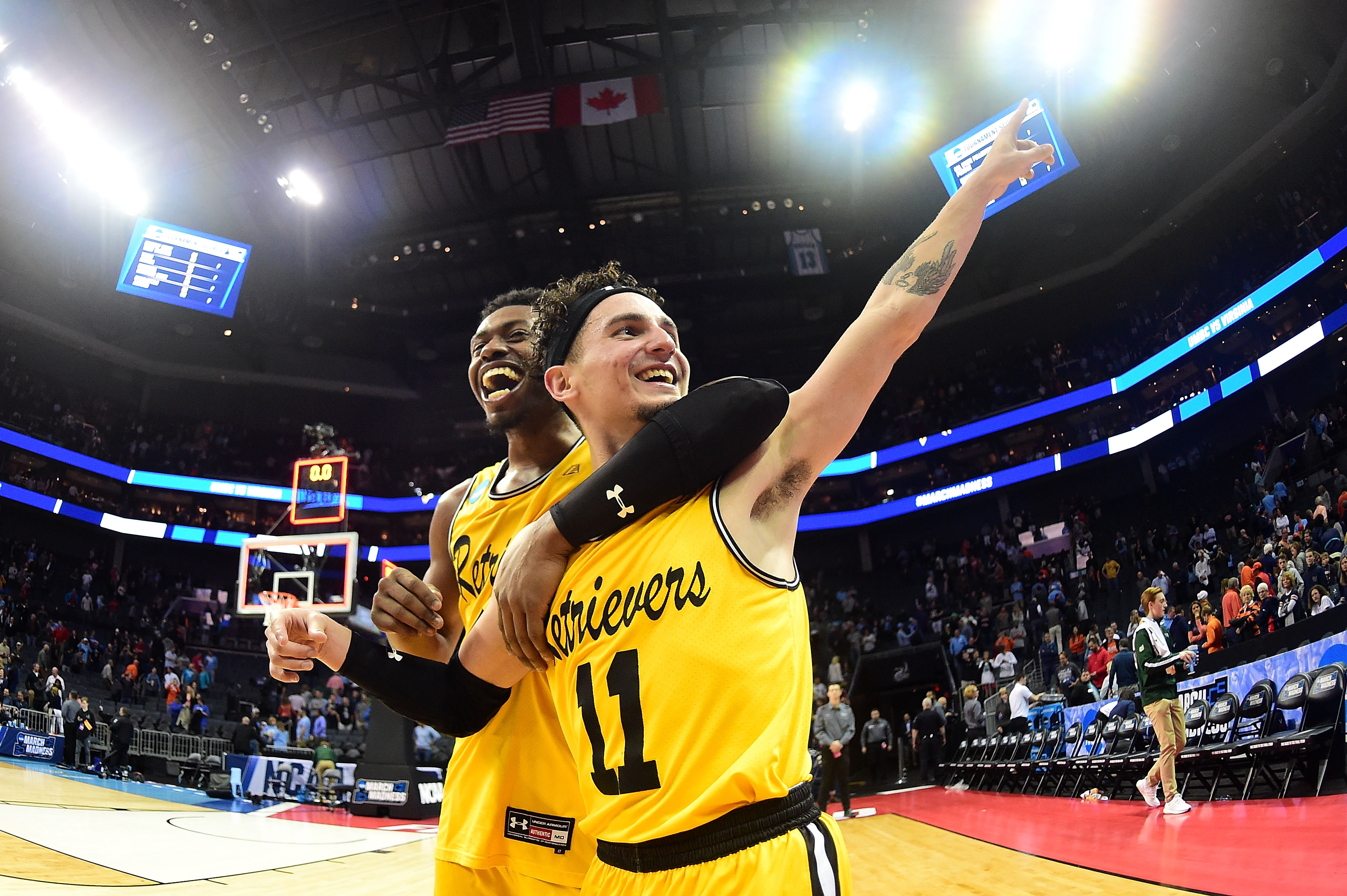 The No. 16 Seed UMBC Topples Virginia in a Historic Upset
