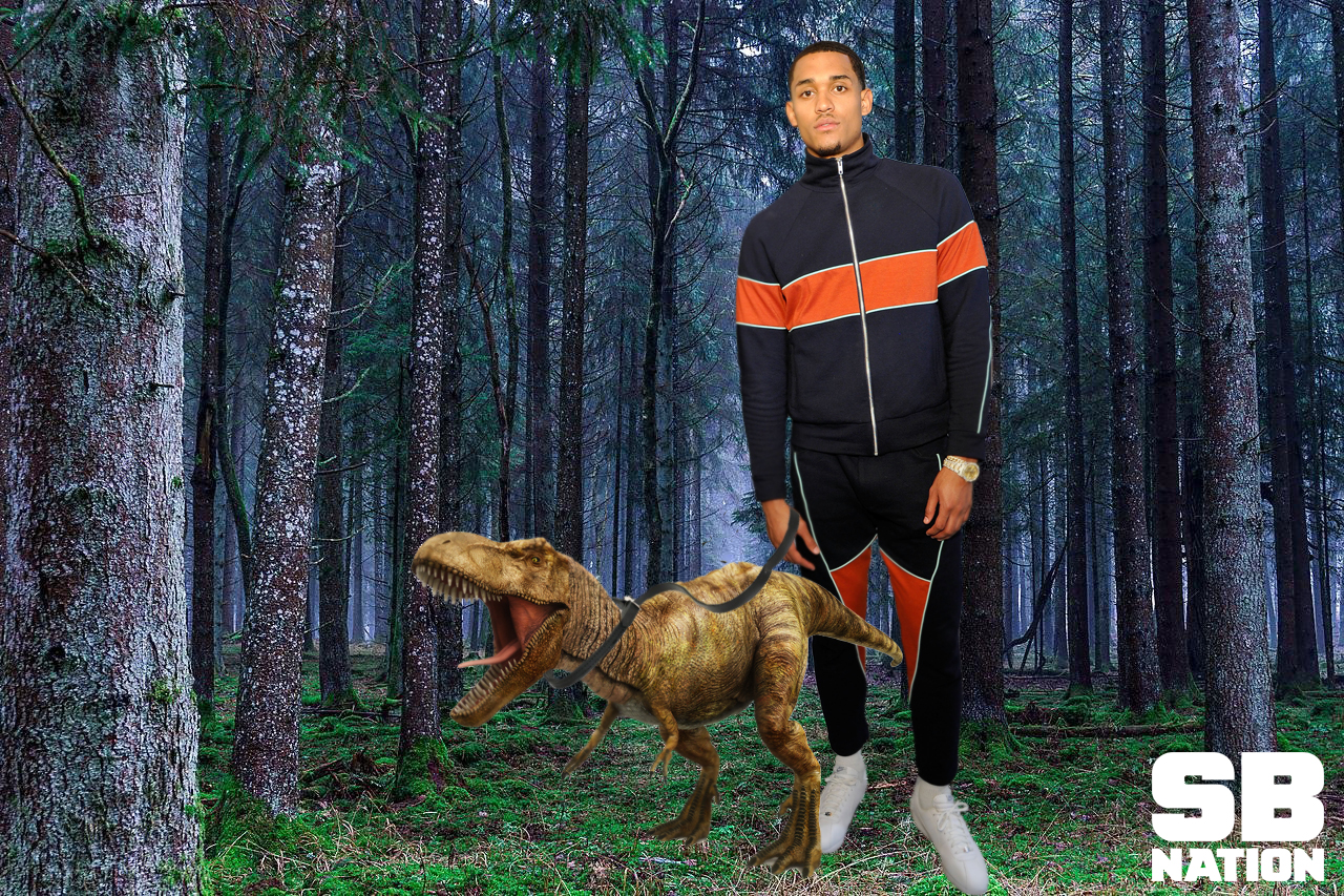 Jordan Clarkson Thinks Dinosaurs Were The Pets For Giant People