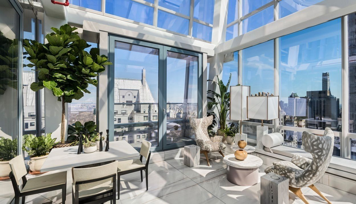 One57 condo with rare private outdoor space seeks 28 5m curbed ny for Condos for sale in garden city ny