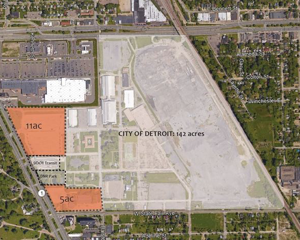 Magic Johnson plan for Michigan State Fairgrounds reduced to 16 acres