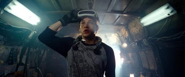 Tye Sheridan as Wade in Ready Player One
