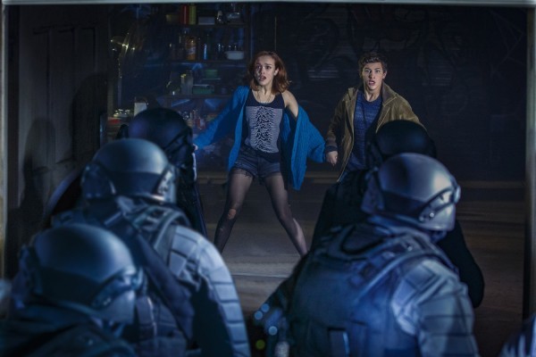 Olivia Cooke and Tye Sheridan as Wade and Art3mis in Ready Player One