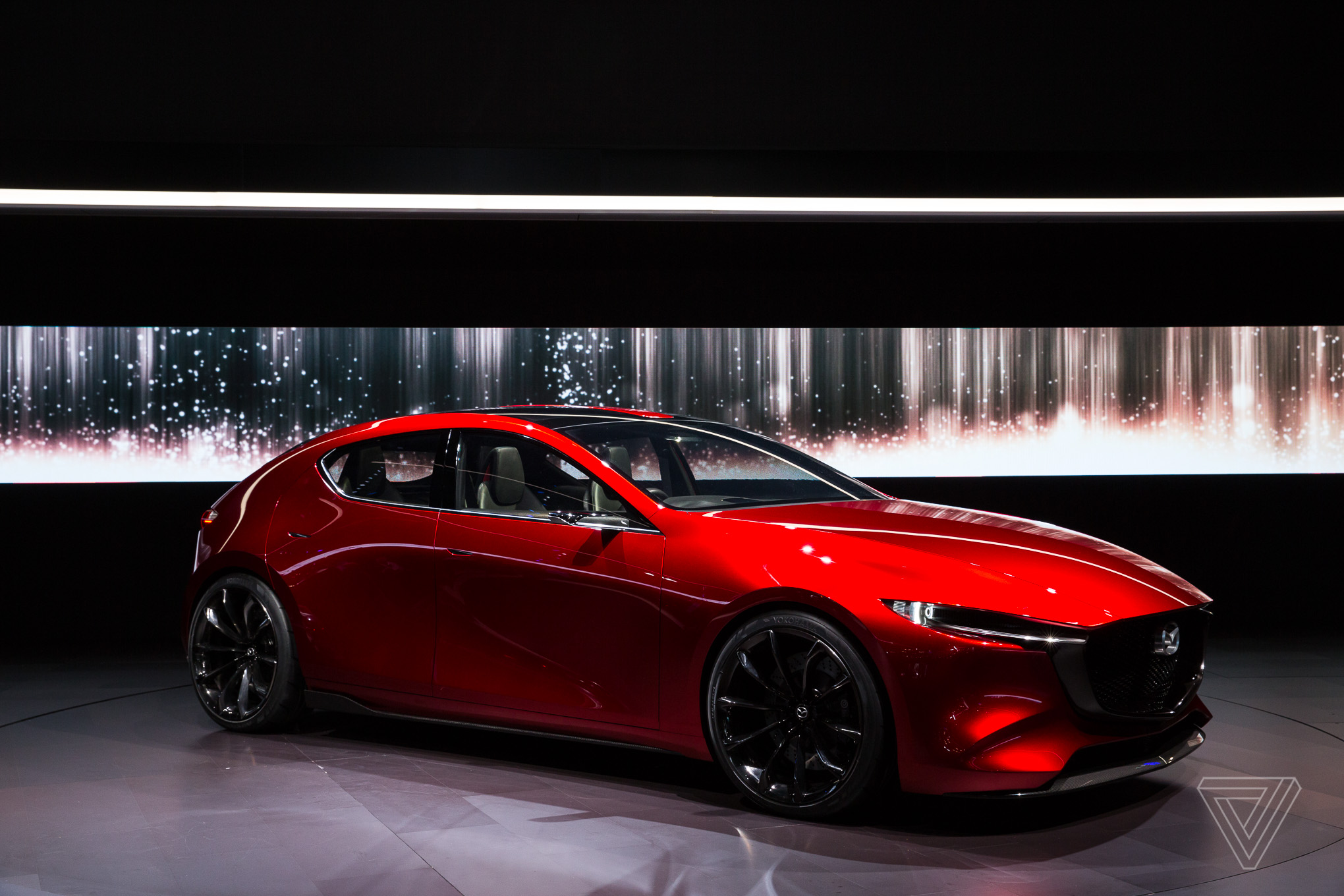 the kai concept holds mazda s internal combustion future the verge. Black Bedroom Furniture Sets. Home Design Ideas