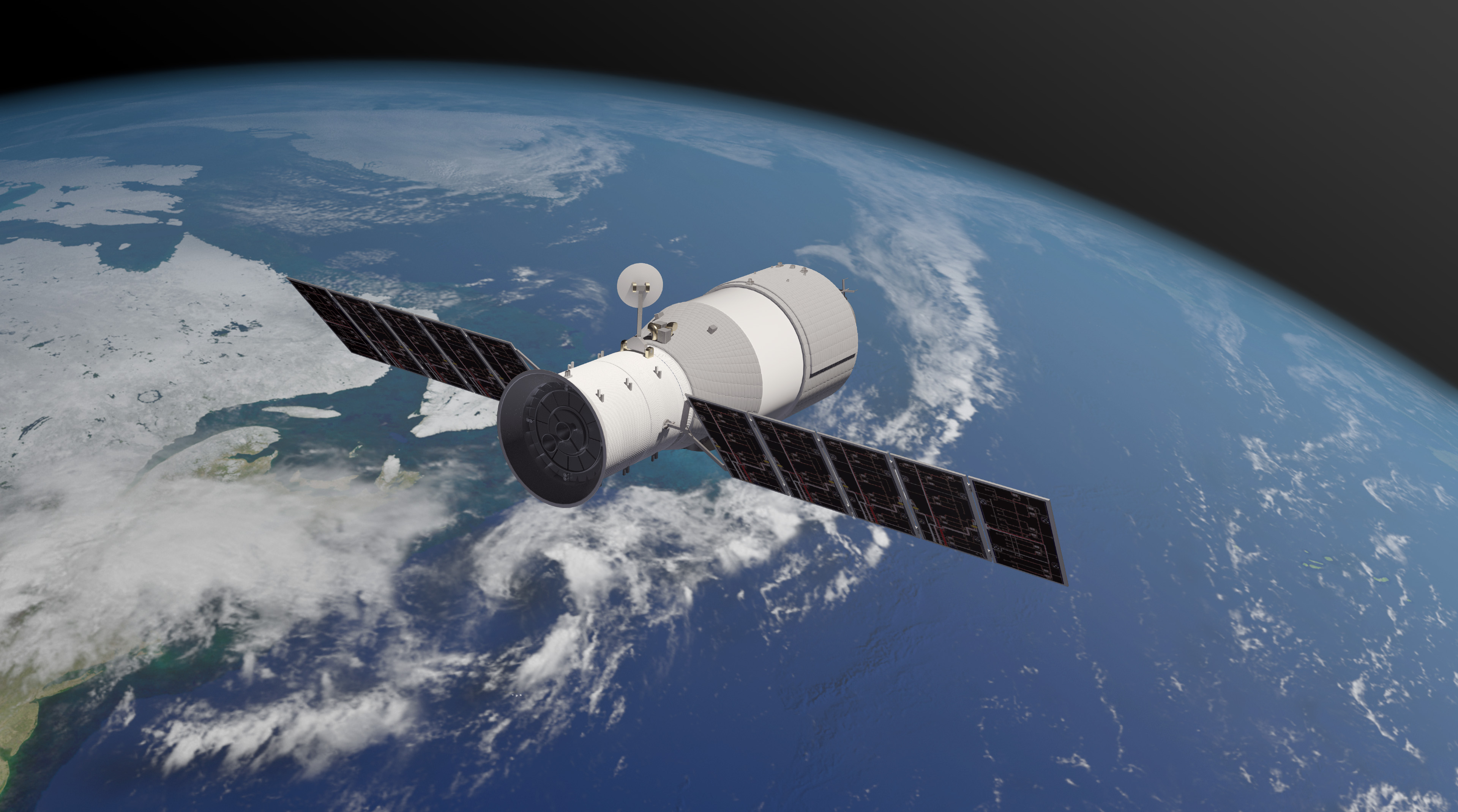 China's out-of-control space station harmlessly breaks up over the Pacific Ocean