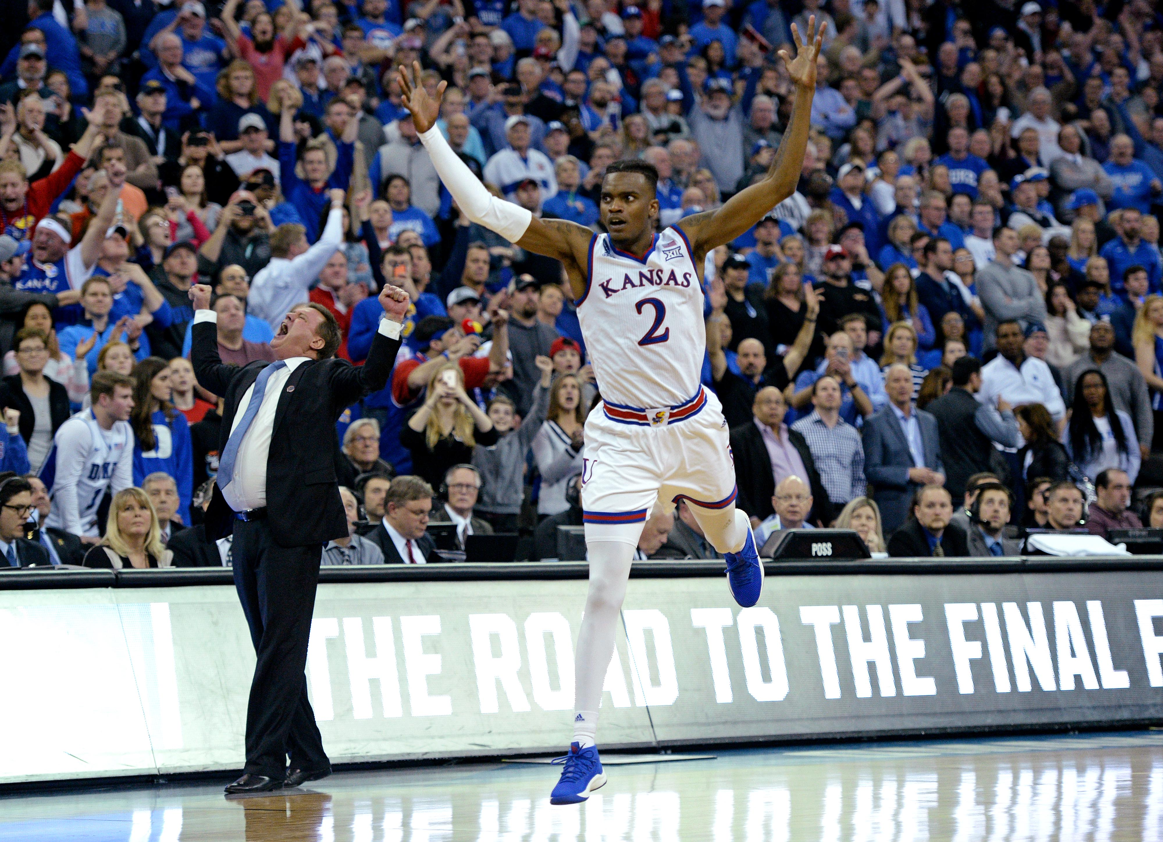 NCAA Basketball: NCAA Tournament Midwest Regional Kansas vs. Duke