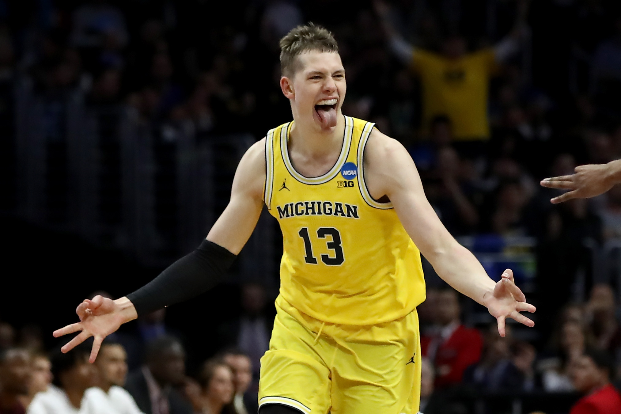 Michigan S Moritz Wagner Creates A Final Four Mismatch Vs